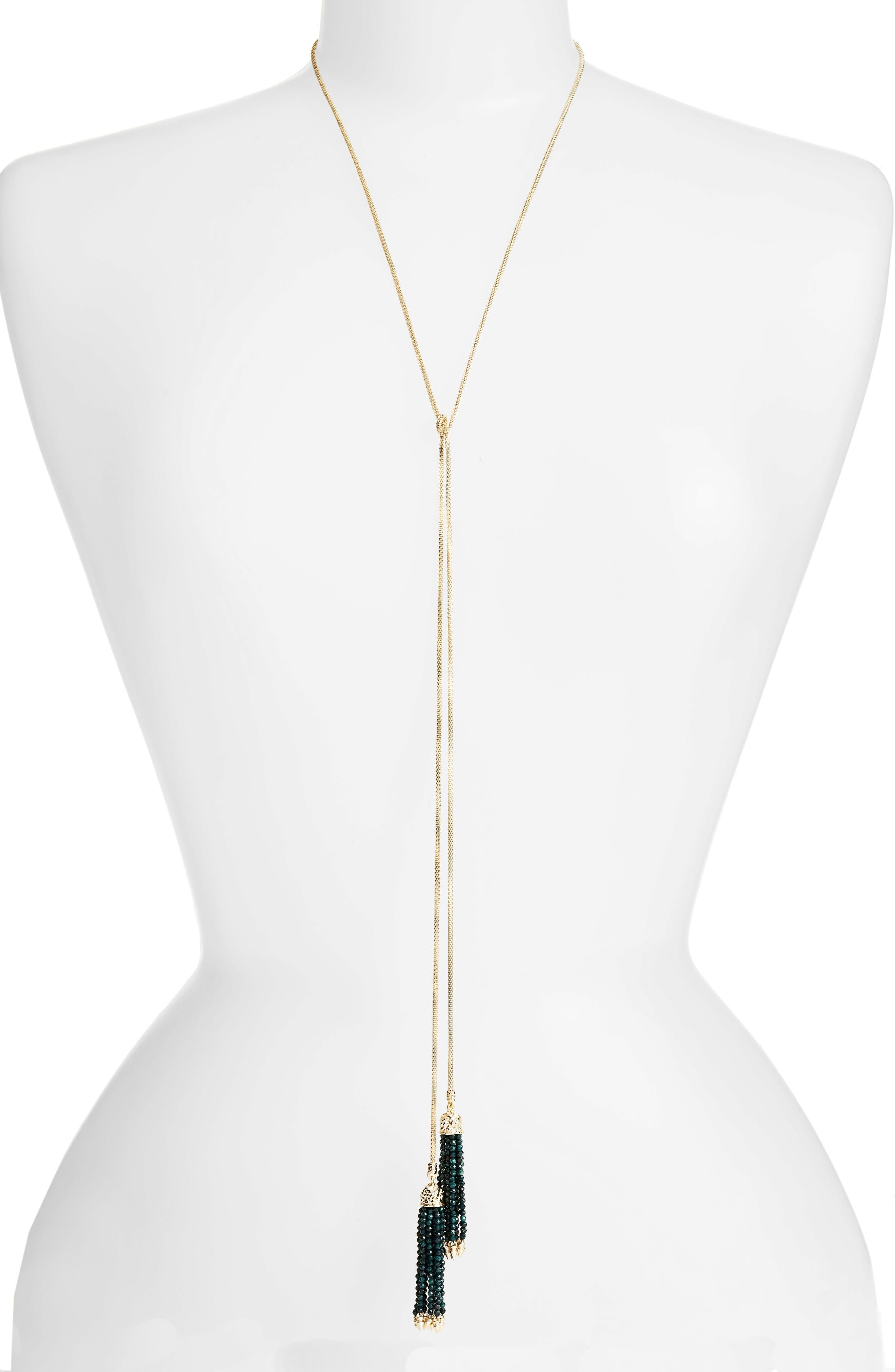 KENDRA SCOTT Annora Lariat Necklace