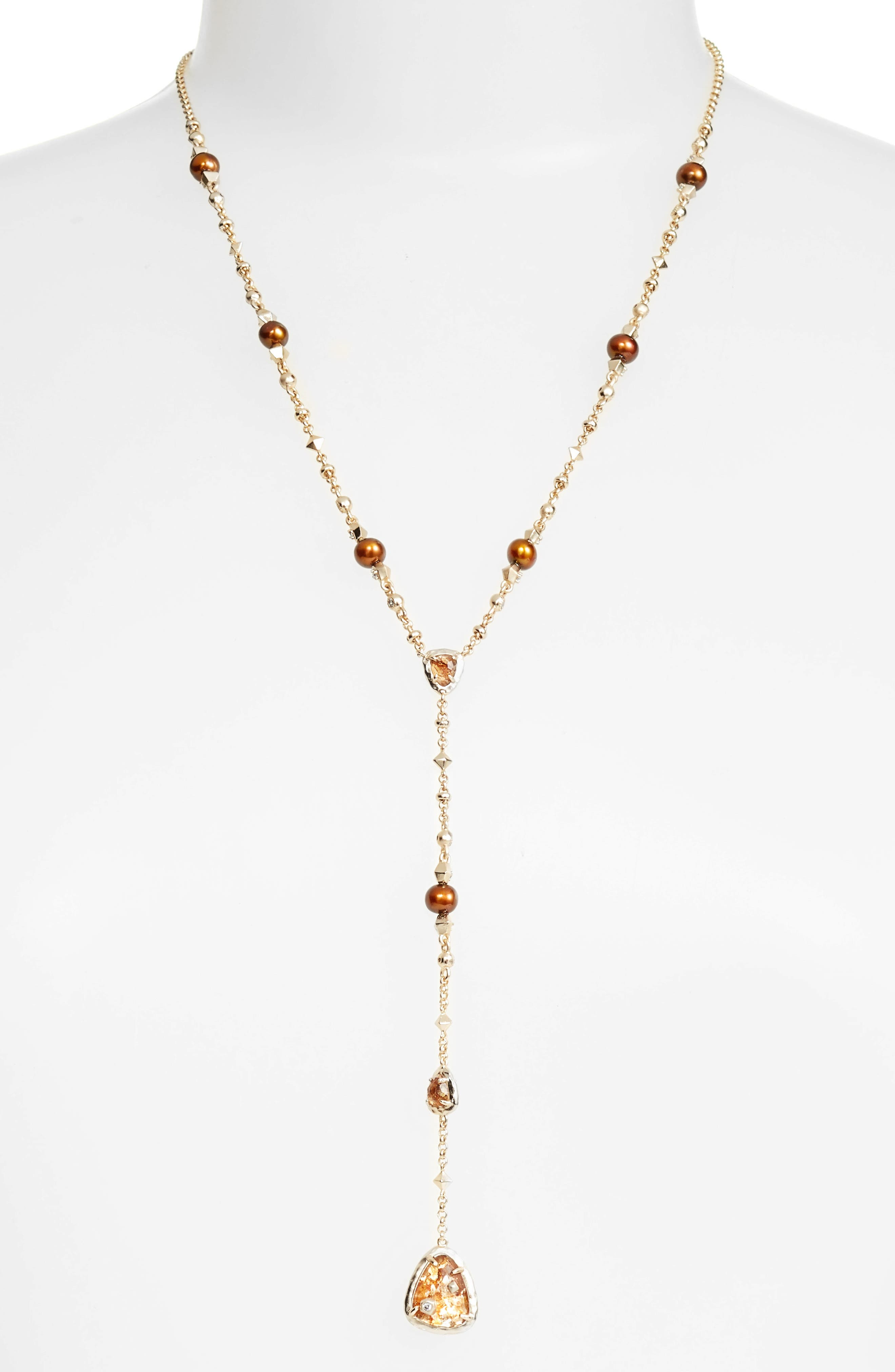 KENDRA SCOTT Lucielle Y-Necklace