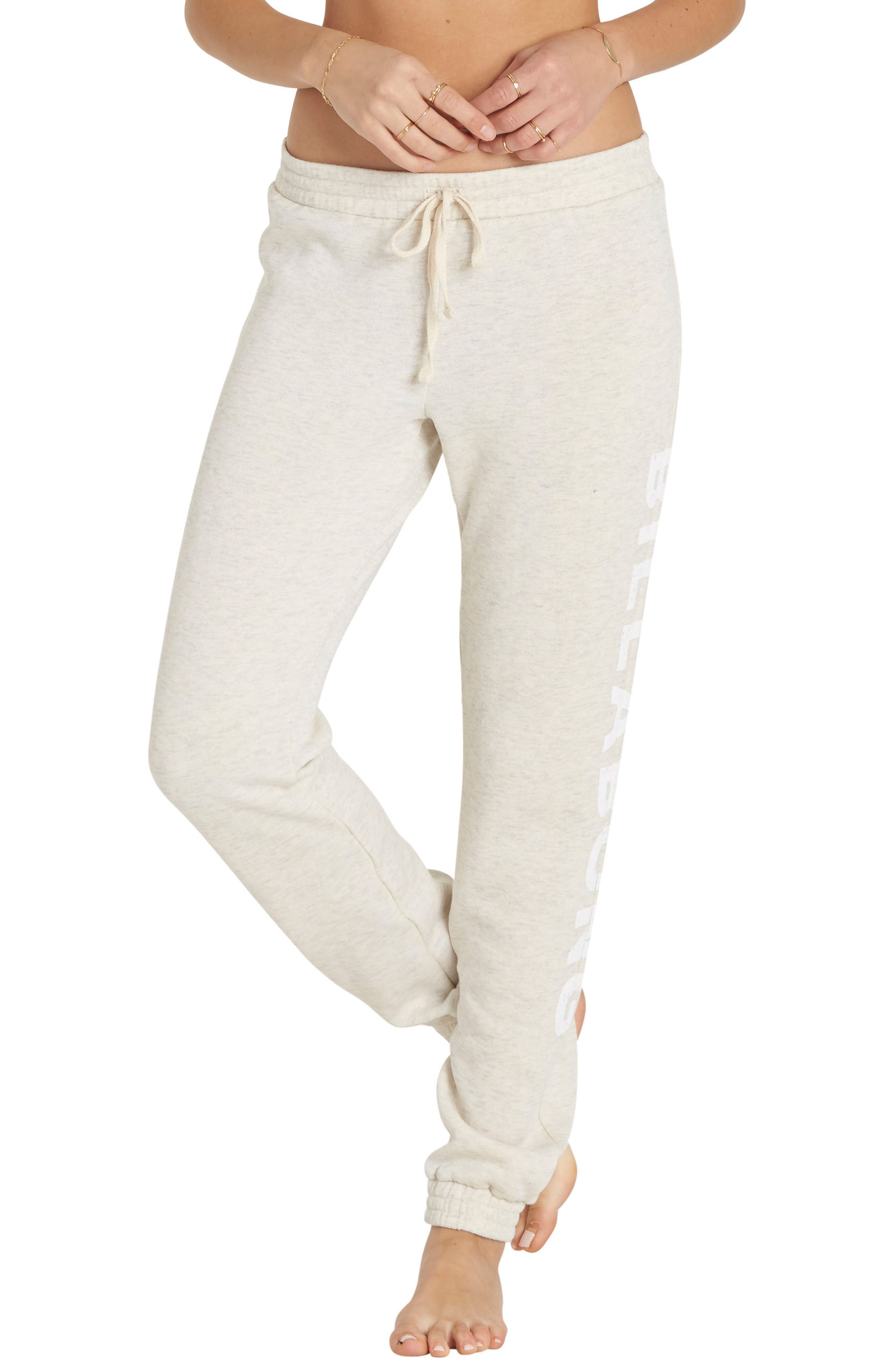 Main Image - Billabong Heritage Type Graphic Fleece Sweatpants