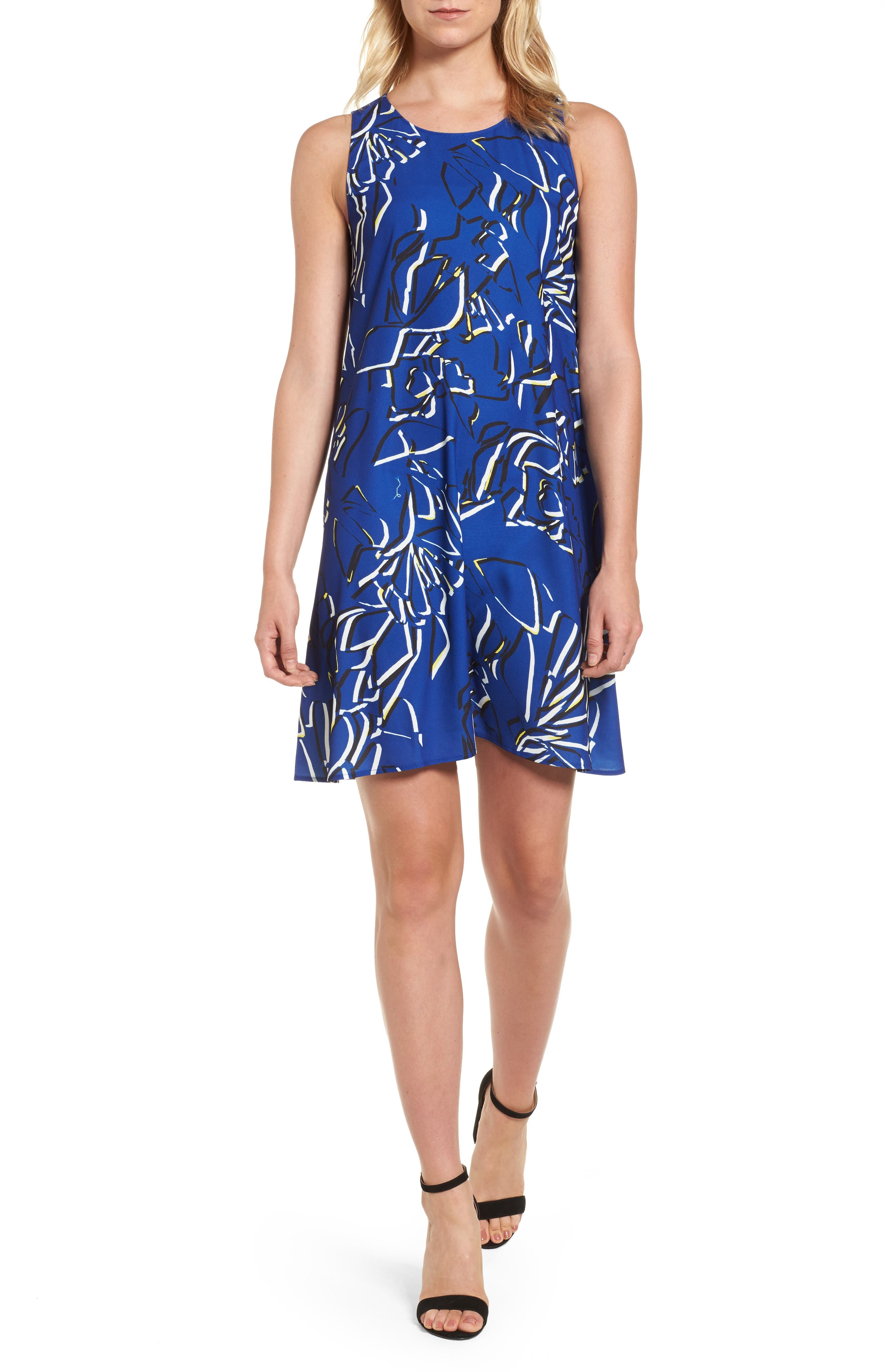 Main Image - Halogen® A-Line Dress (Regular & Petite)