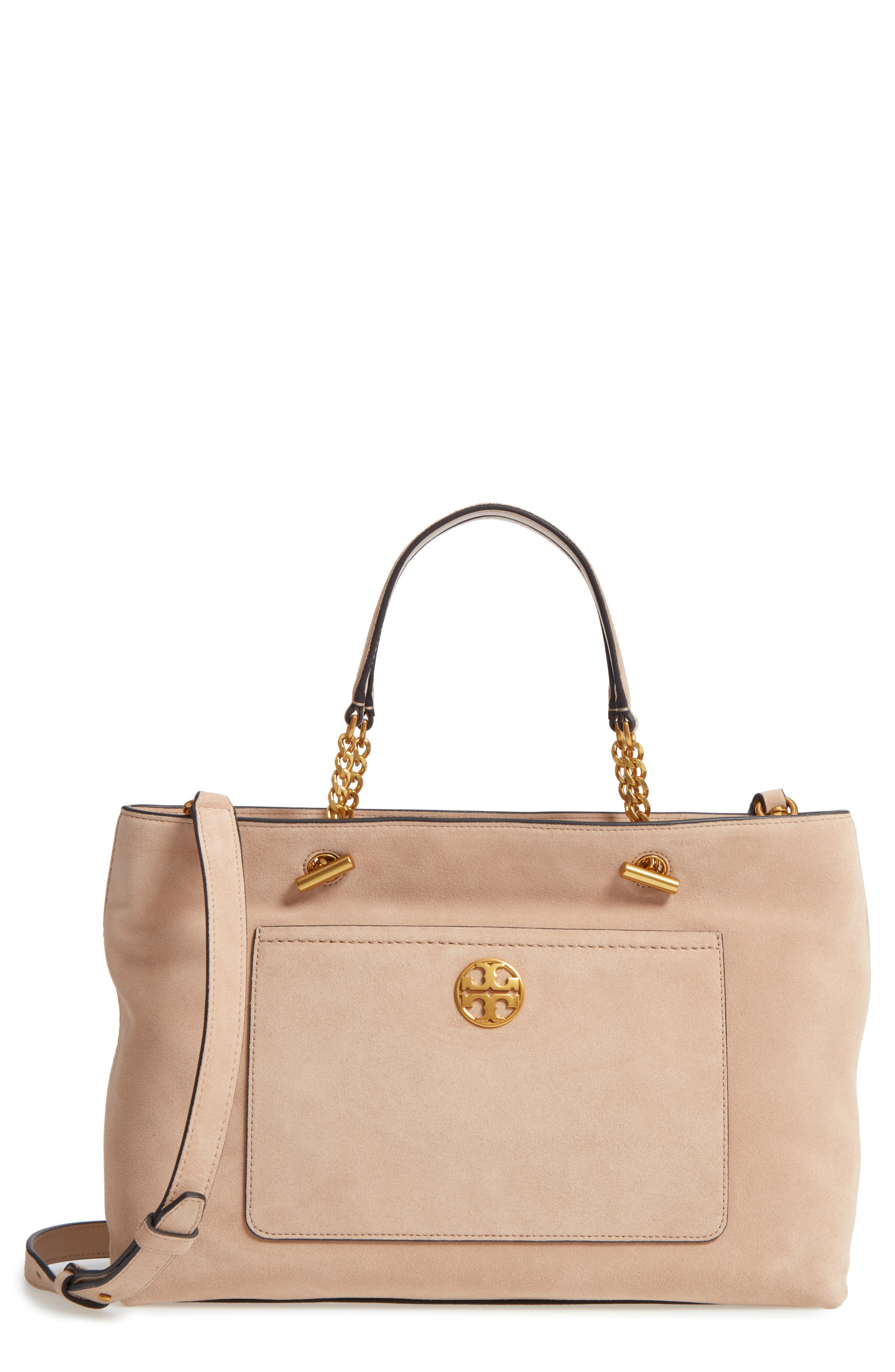 Alternate Image 1 Selected - Tory Burch Chelsea Suede Satchel