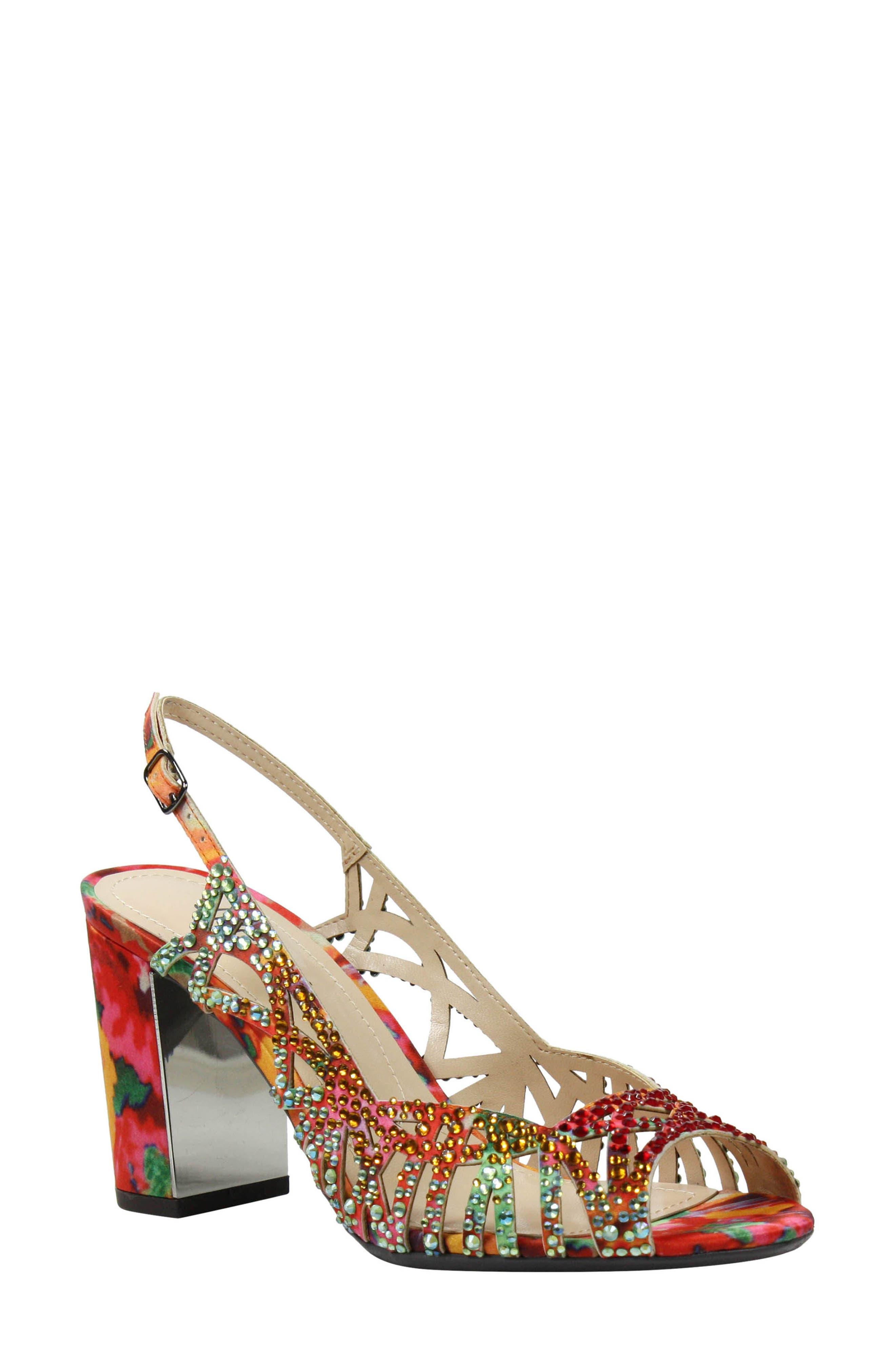 Main Image - J. Reneé Tahira Embellished Cutout Sandal (Women)