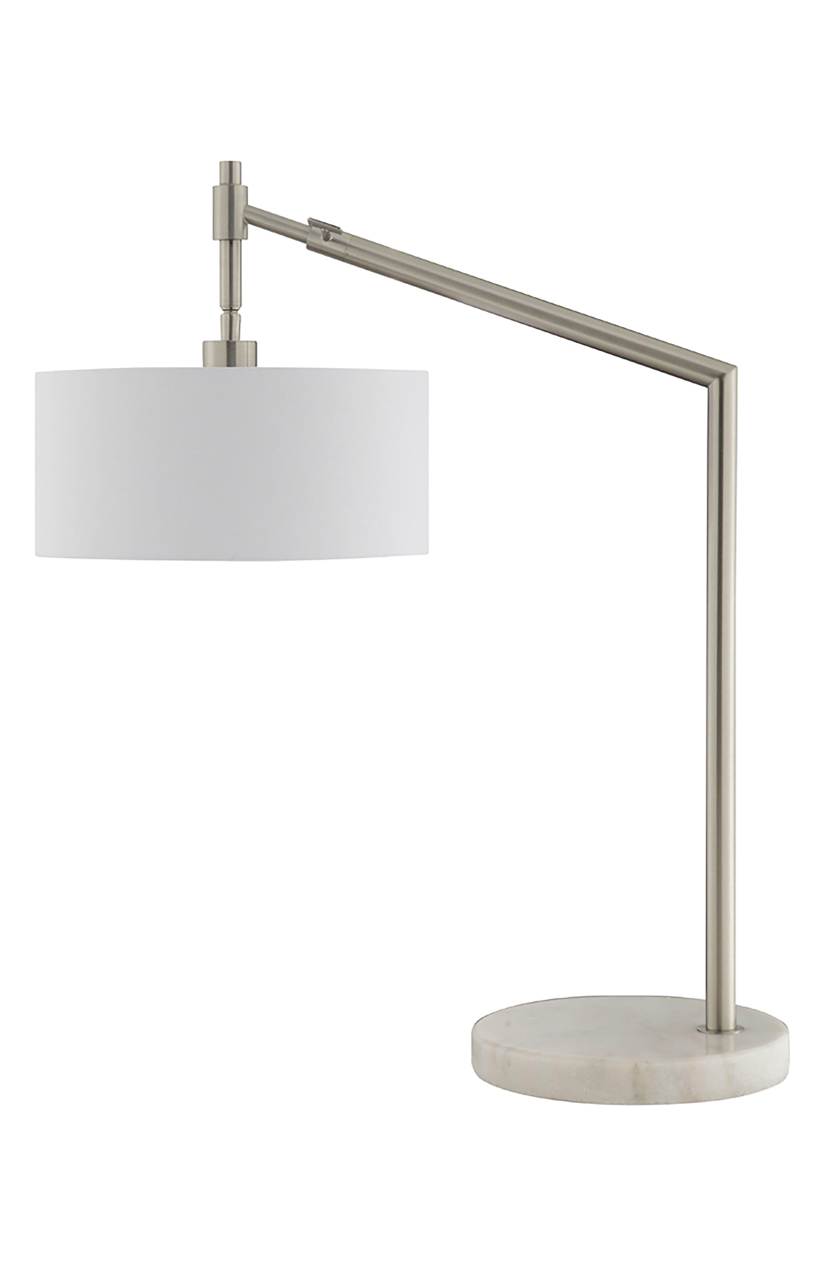 JAlexander Gavin Table Lamp,                         Main,                         color, White