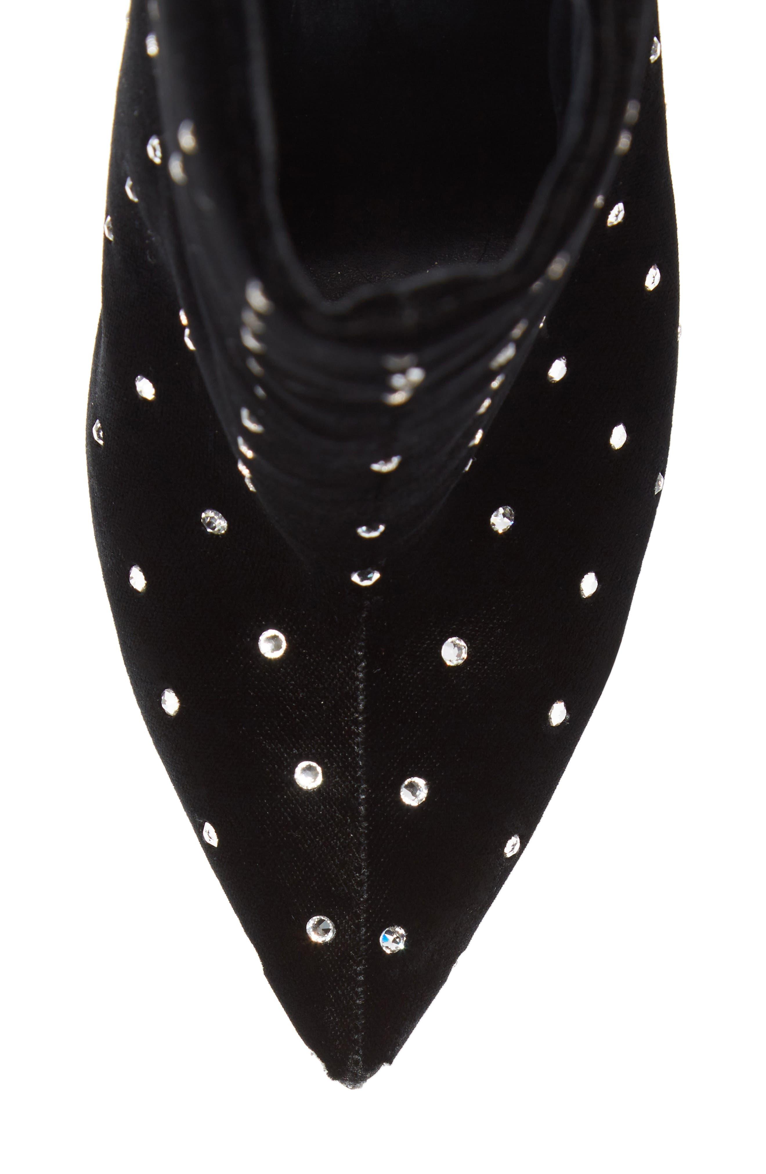 Alternate Image 4  - Saint Laurent Freja Embellished Broken Heel Bootie (Women)
