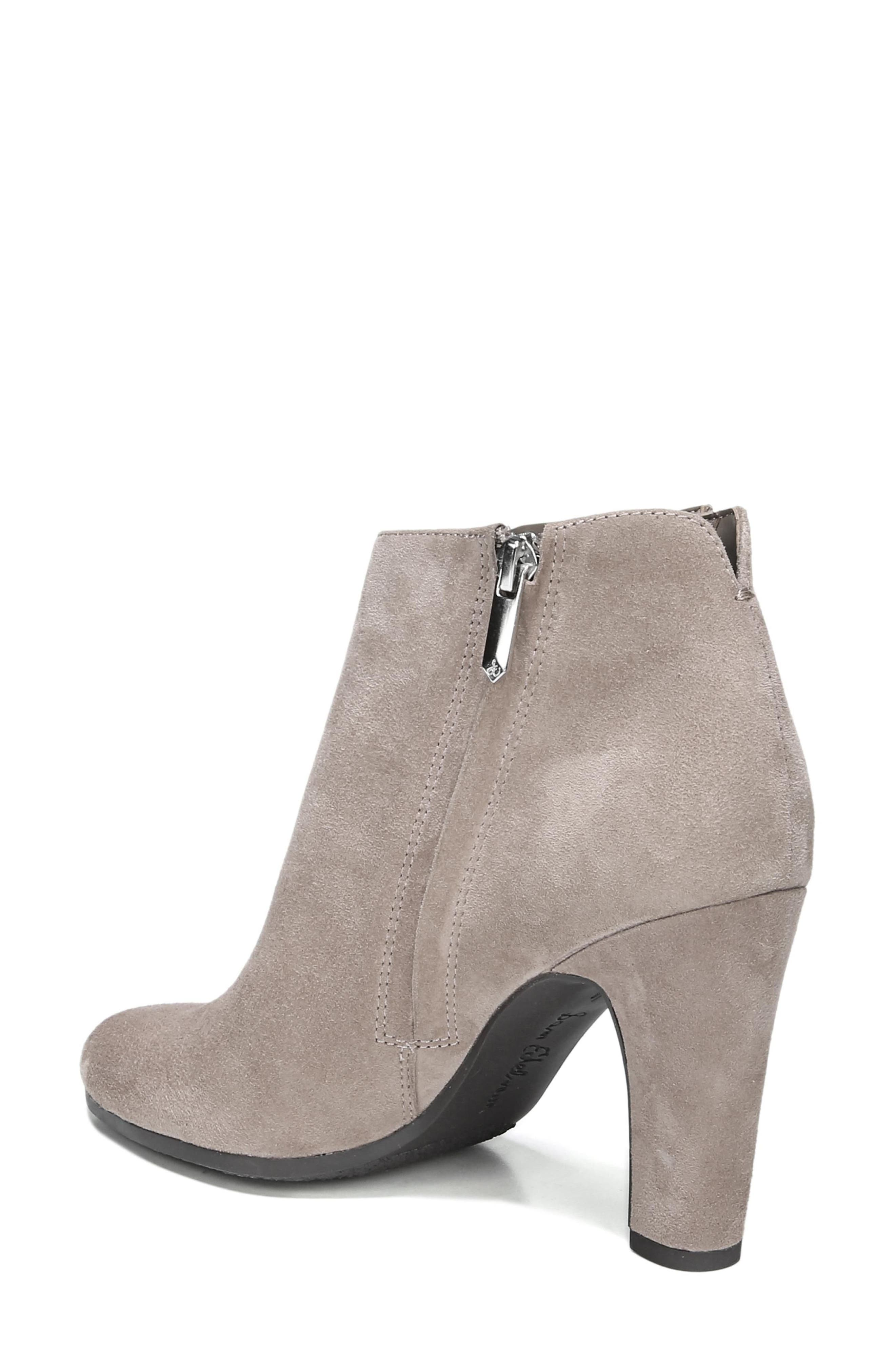 Sadee Angle Zip Bootie,                             Alternate thumbnail 2, color,                             New Putty Suede