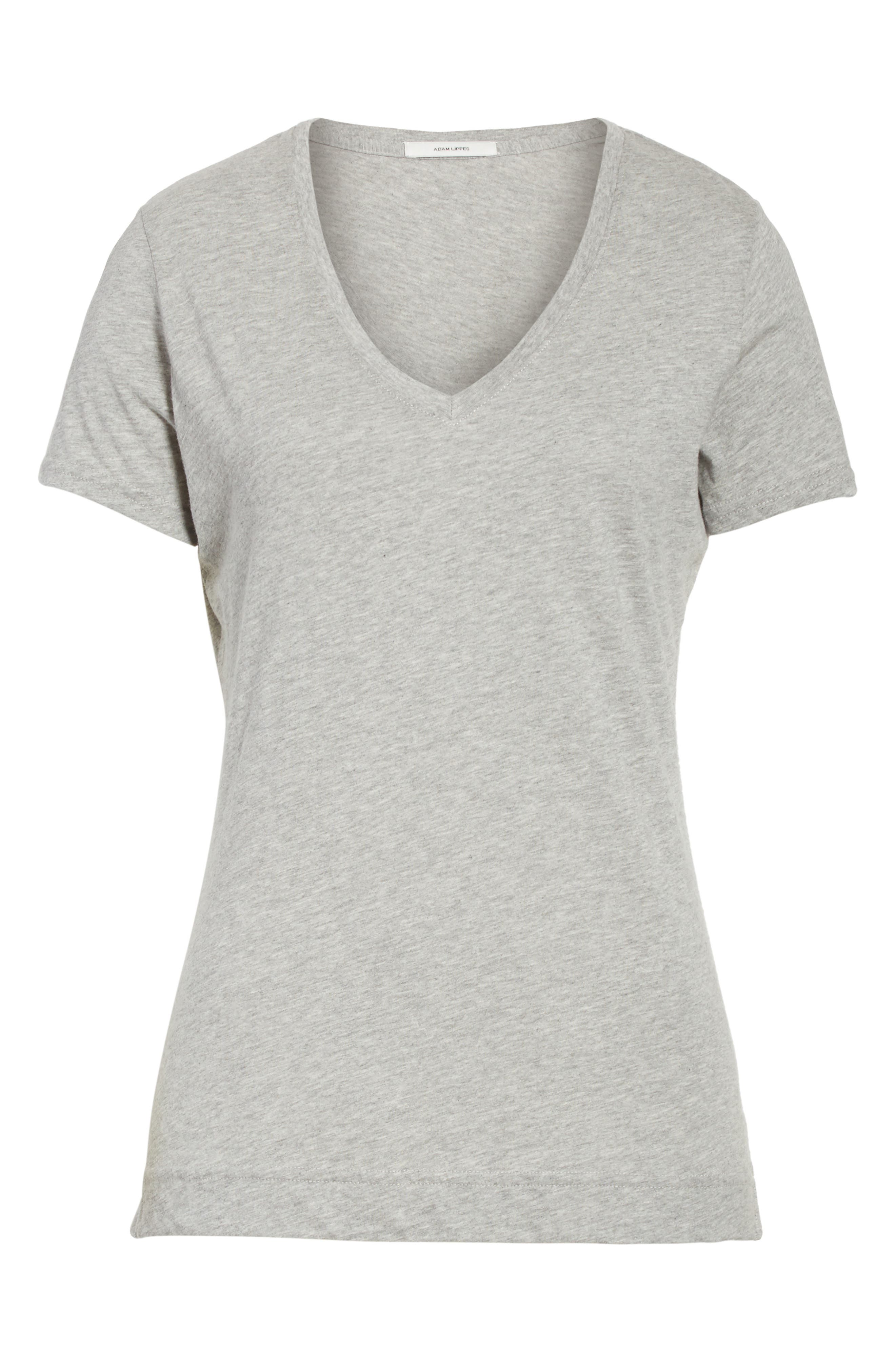 Alternate Image 6  - Adam Lippes V-Neck Tee