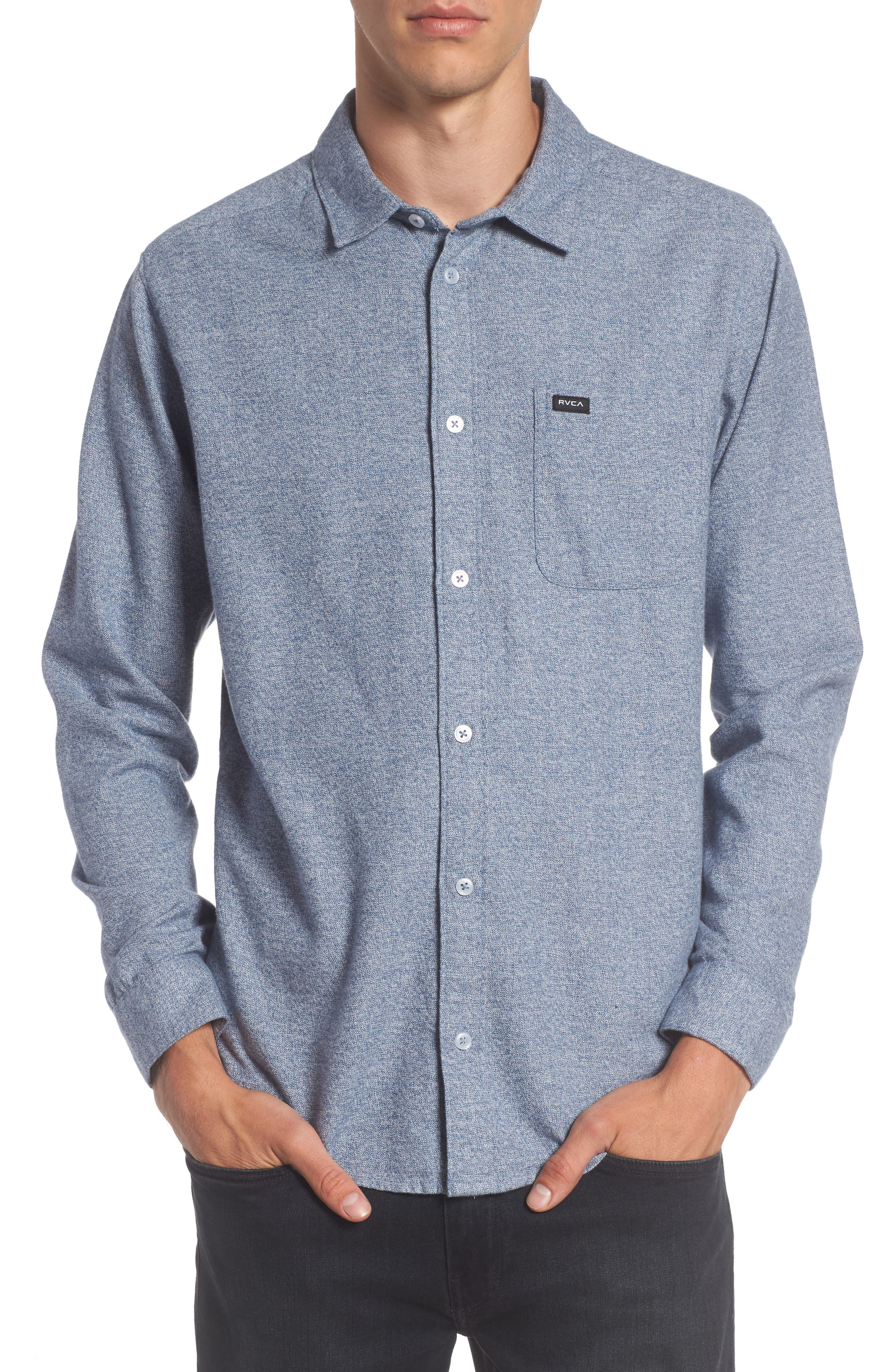 RVCA Current Static Woven Shirt