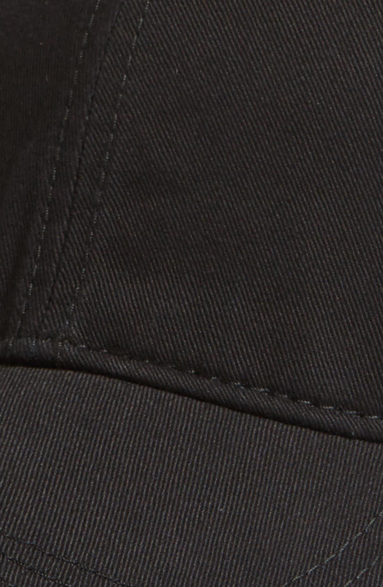 'Classic' Cap,                             Alternate thumbnail 3, color,                             Black