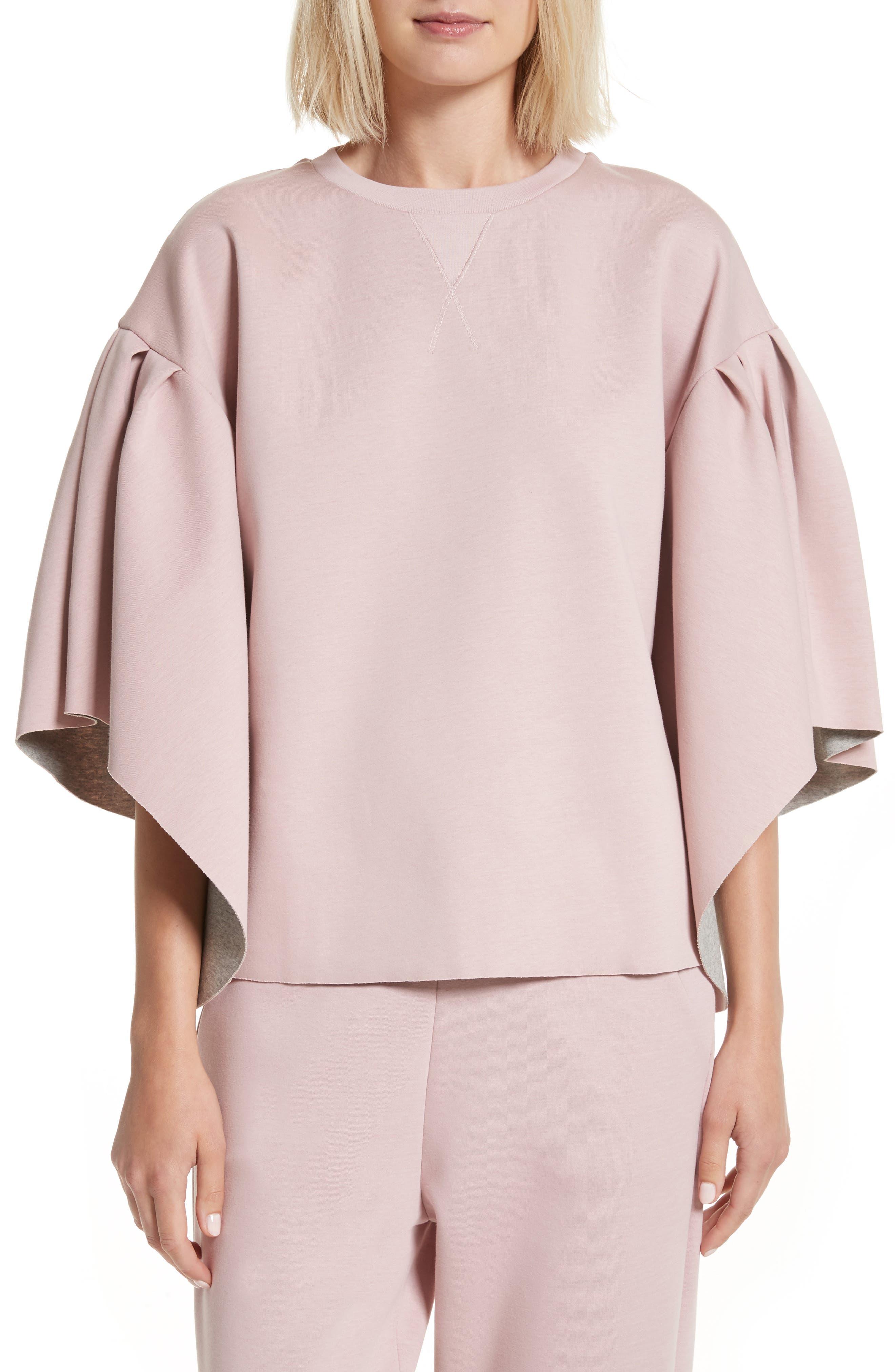 Orcher Full Sleeve Sweatshirt,                             Main thumbnail 1, color,                             Dusky Pink