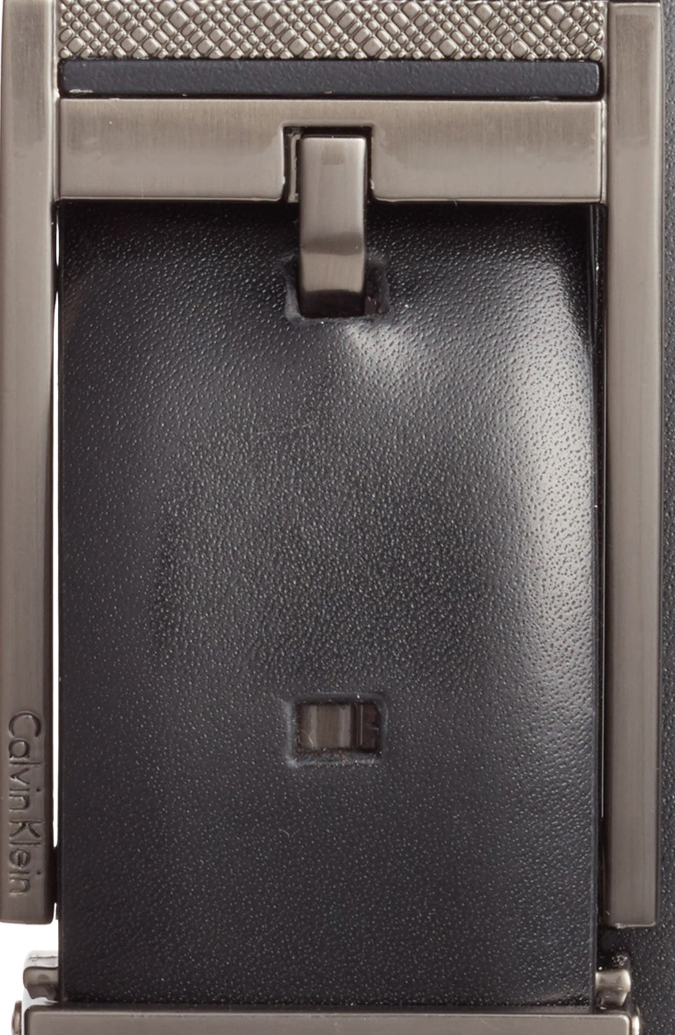 Alternate Image 2  - Calvin Klein Reversible Leather Belt