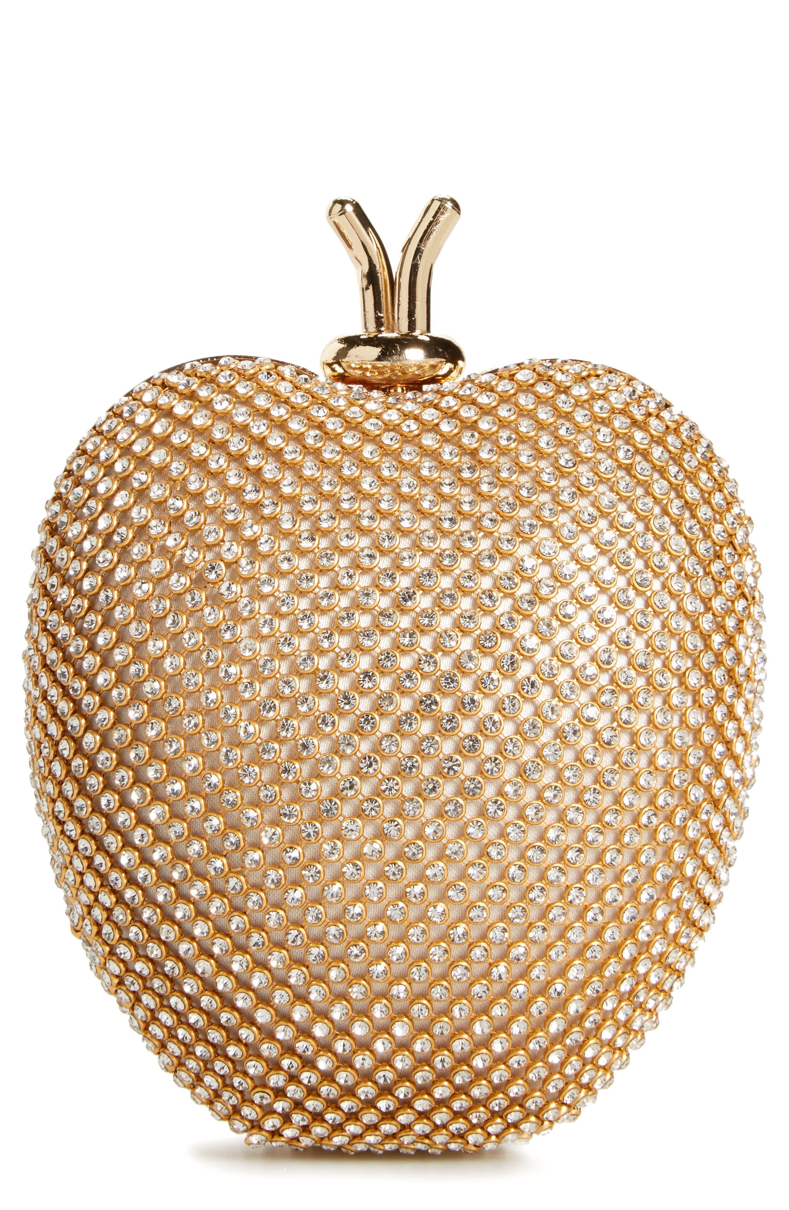 DAVID CHARLES Crystal Apple Bag