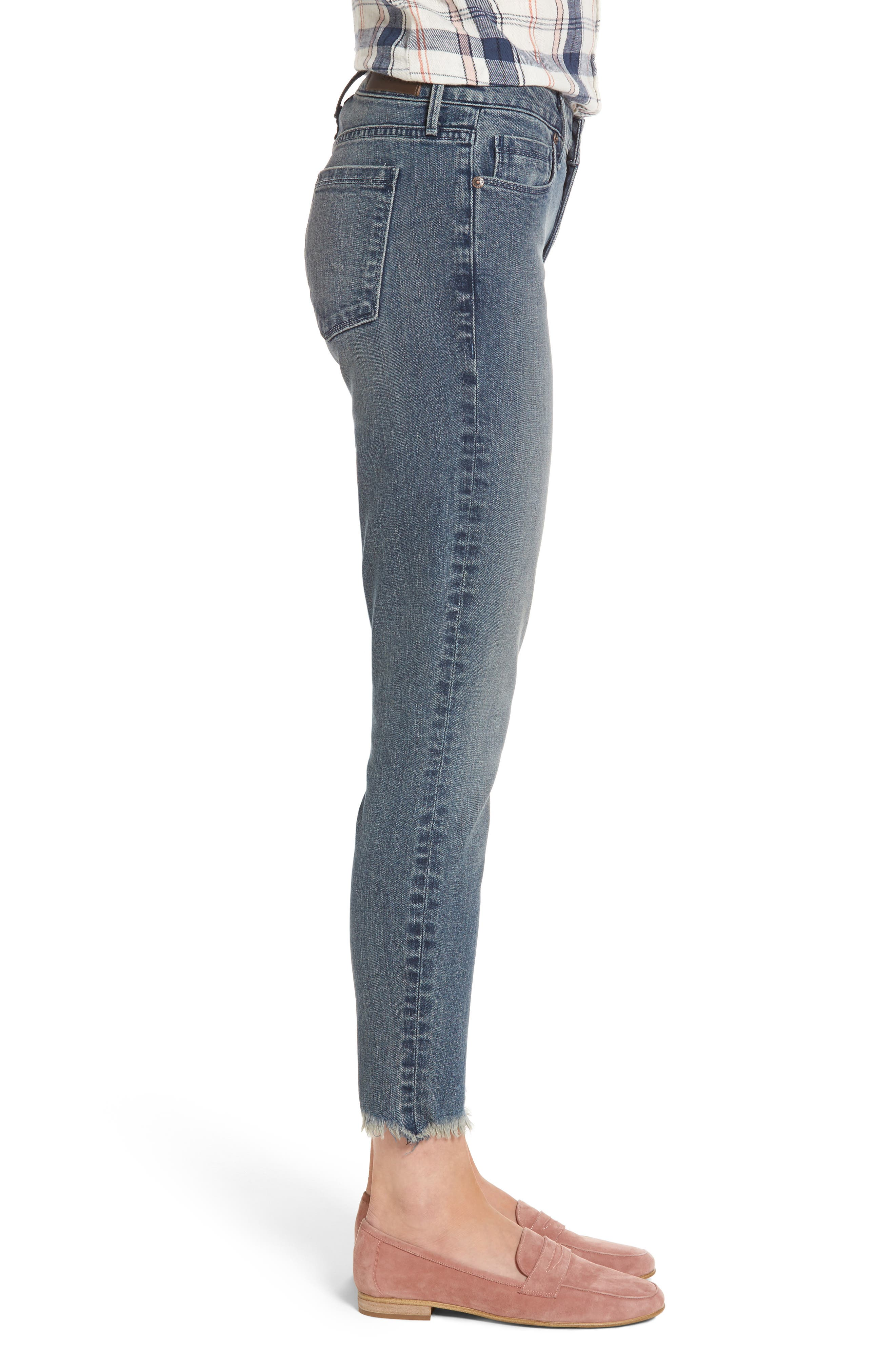 Alternate Image 3  - PARKER SMITH Ava Crop Skinny Jeans (Madeline)
