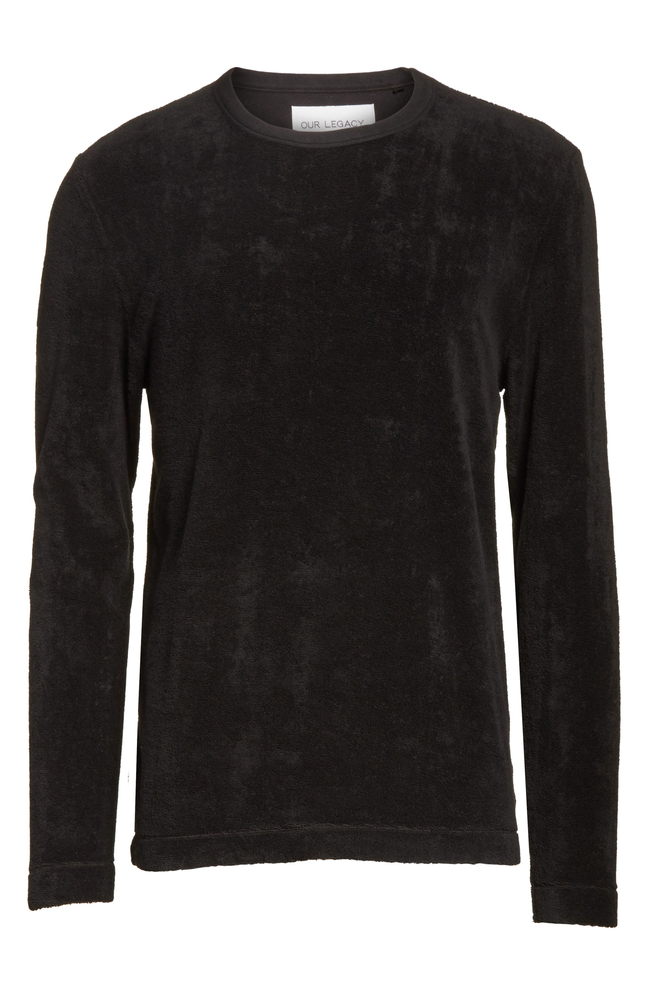 Alternate Image 6  - OUR LEGACY Long Sleeve French Terry T-Shirt