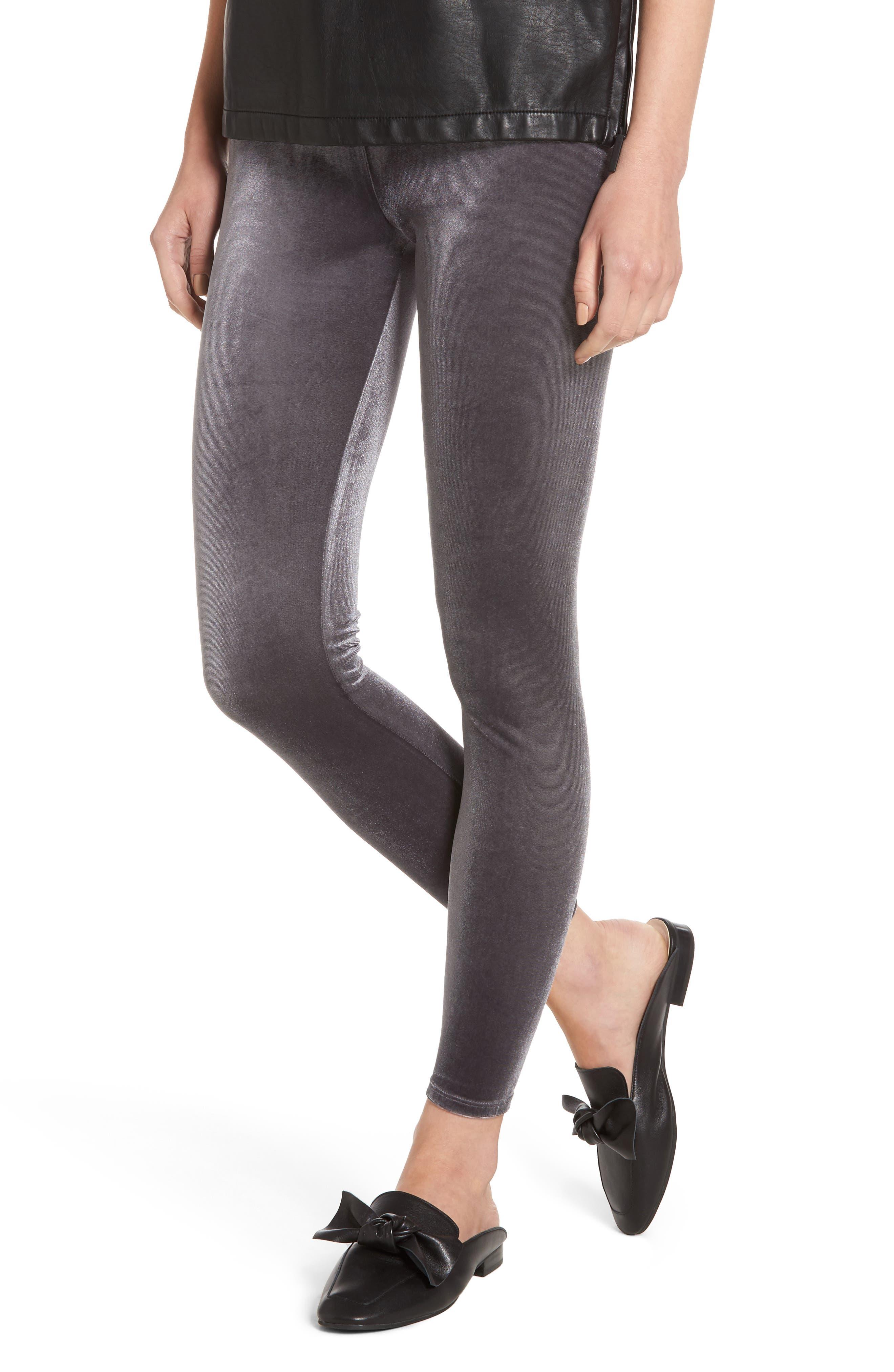 NORDSTROM Luxe Velvet Leggings