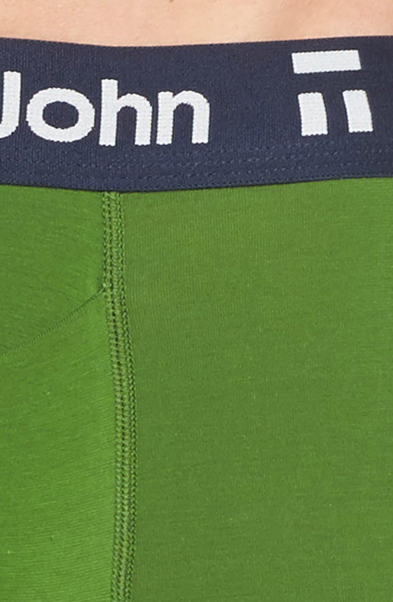 Alternate Image 4  - Tommy John Cool Cotton Armory Trunks