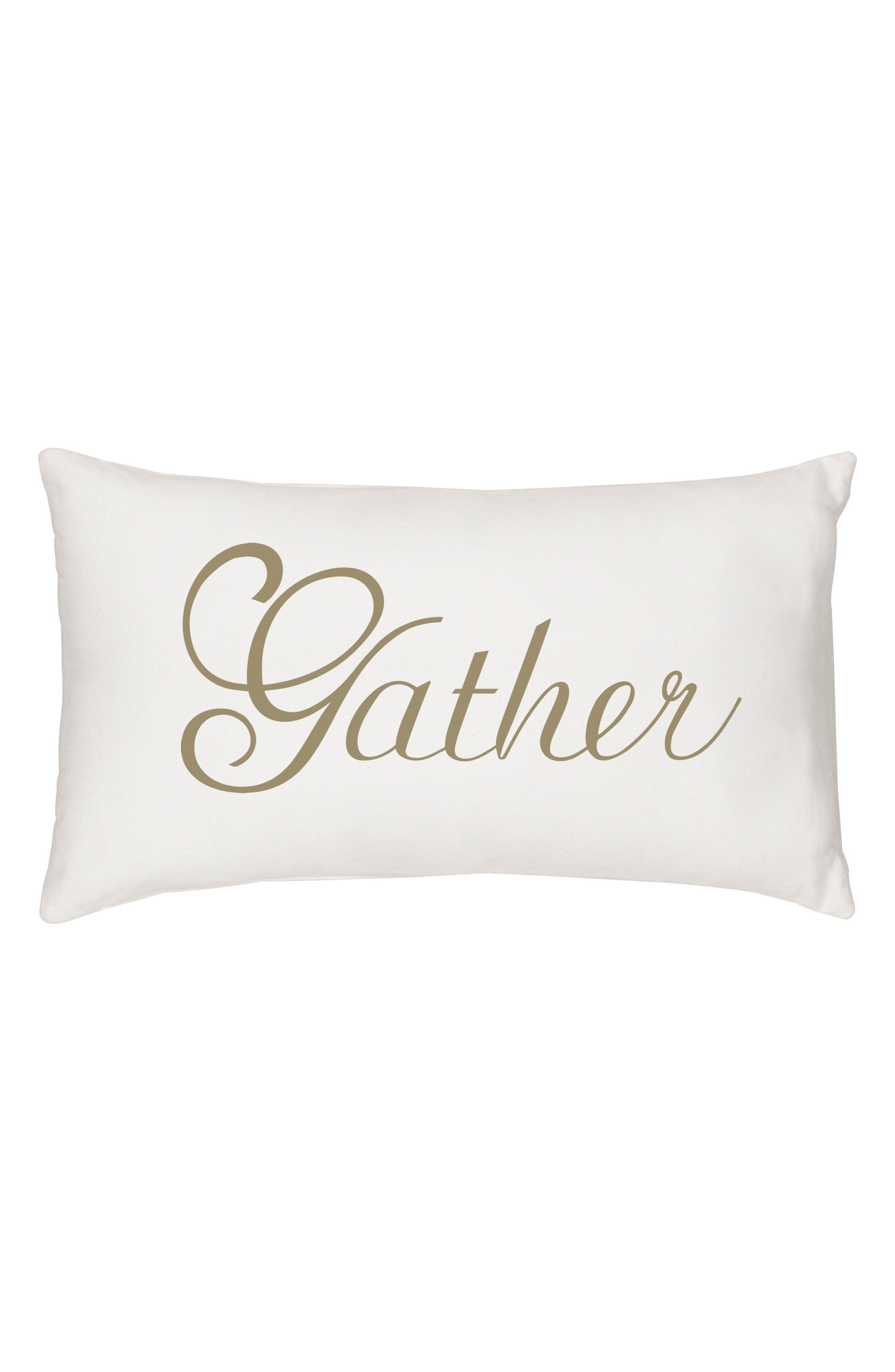 Cathy's Concepts Gather Lumbar Accent Pillow