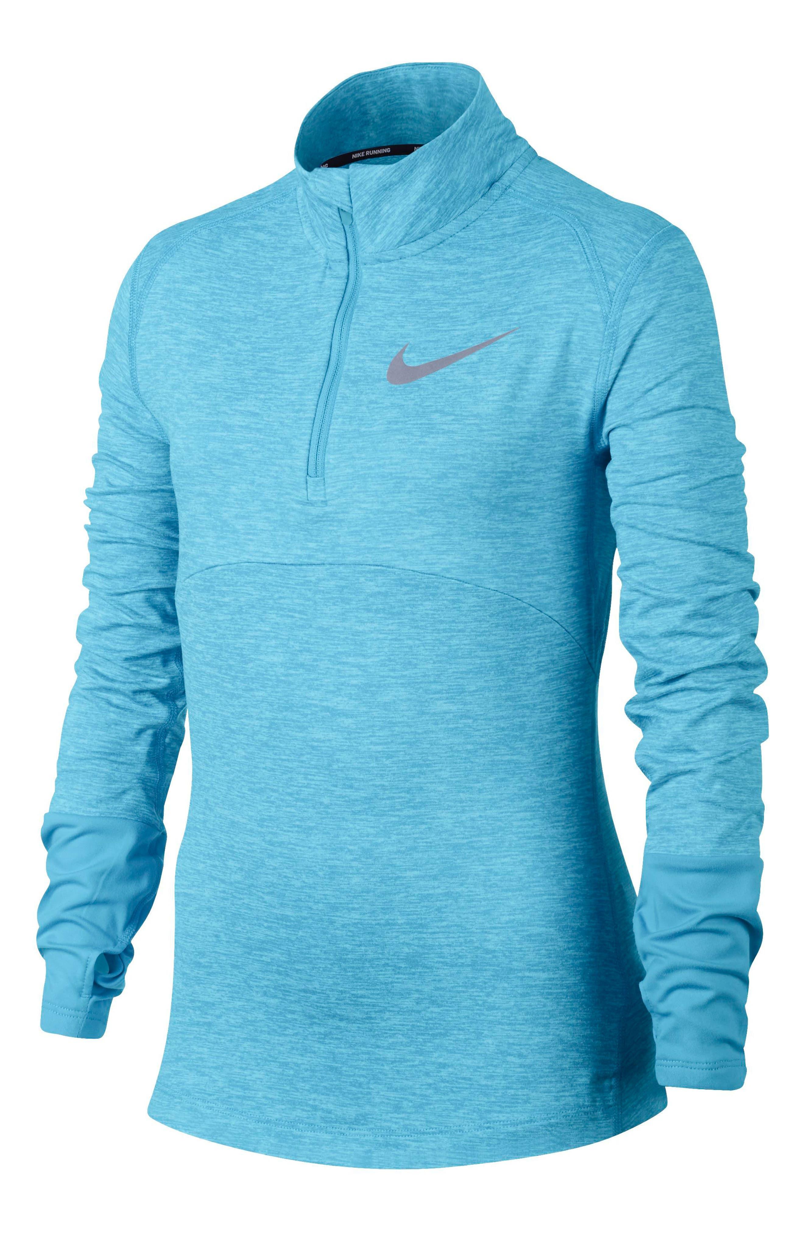 Alternate Image 1 Selected - Nike Dry Element Running Top (Big Girls)