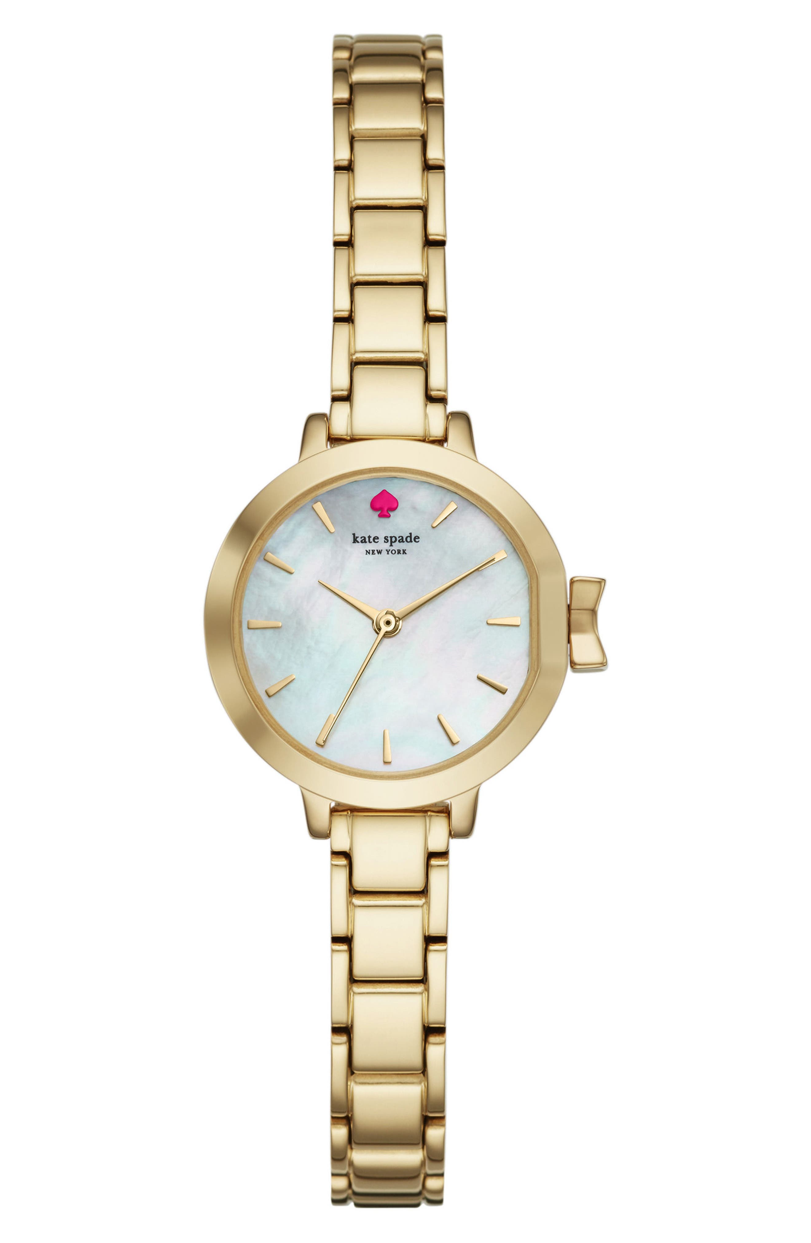Alternate Image 1 Selected - kate spade new york park row bracelet watch, 24mm