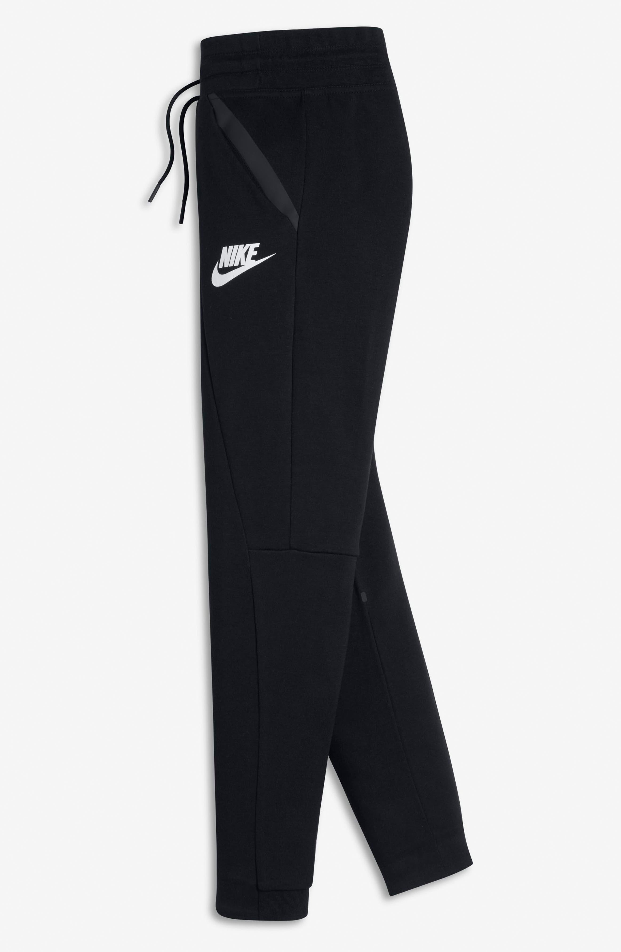 Alternate Image 3  - Nike Tech Fleece Pants (Big Girls)