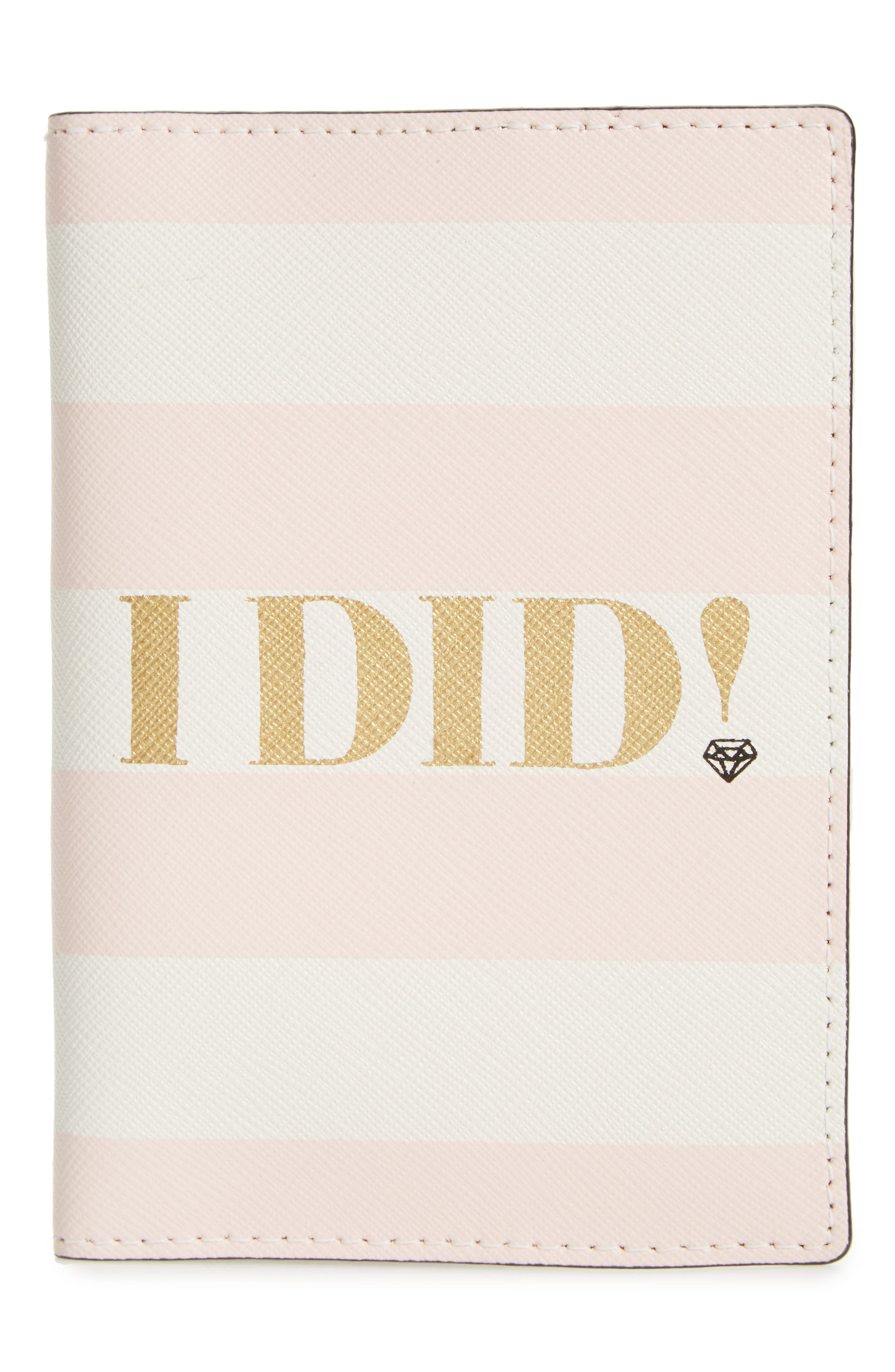 Alternate Image 3  - kate spade new york wedding belles - i do/i did leather passport holder