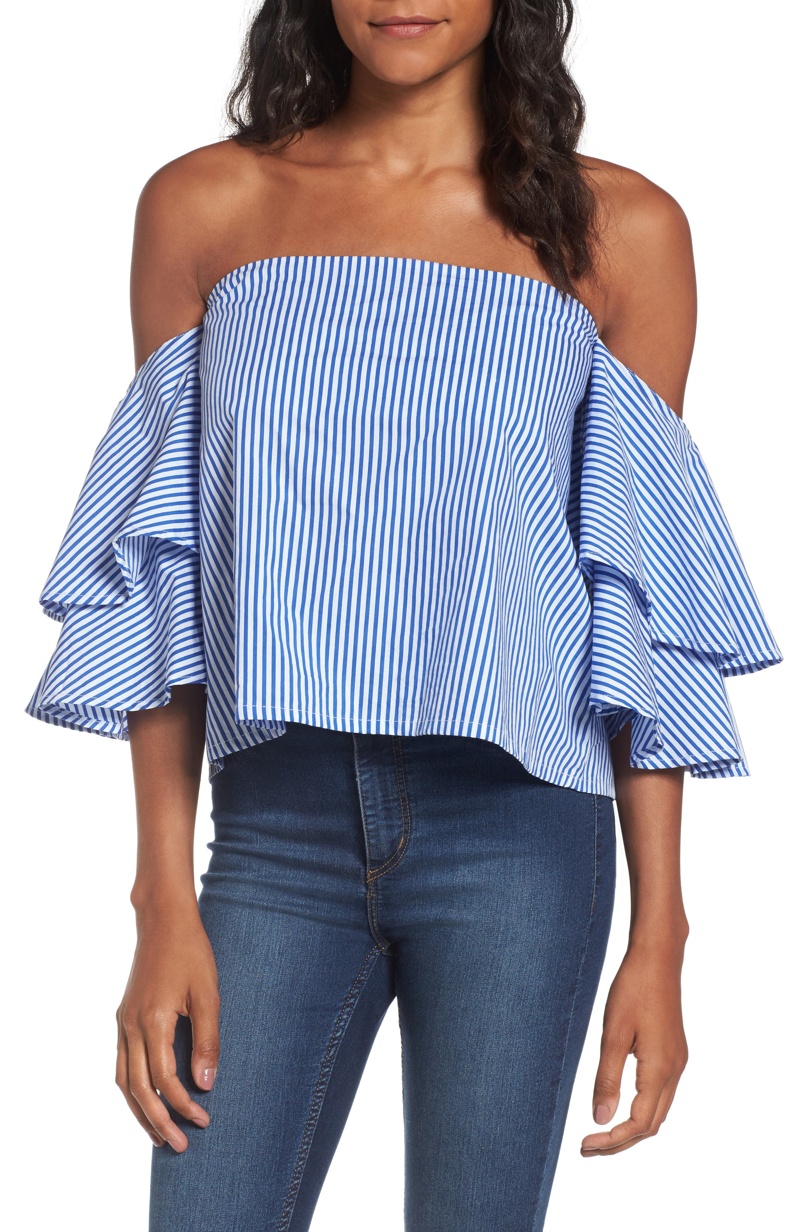 FAITHFULL THE BRAND House Off the Shoulder Top