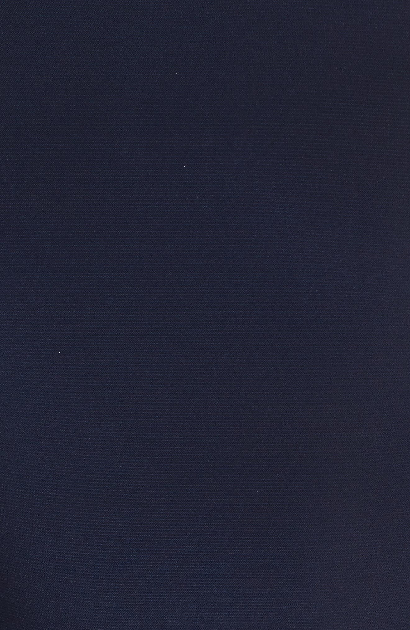 Alternate Image 5  - Xscape Beaded Mesh & Jersey Sheath Dress