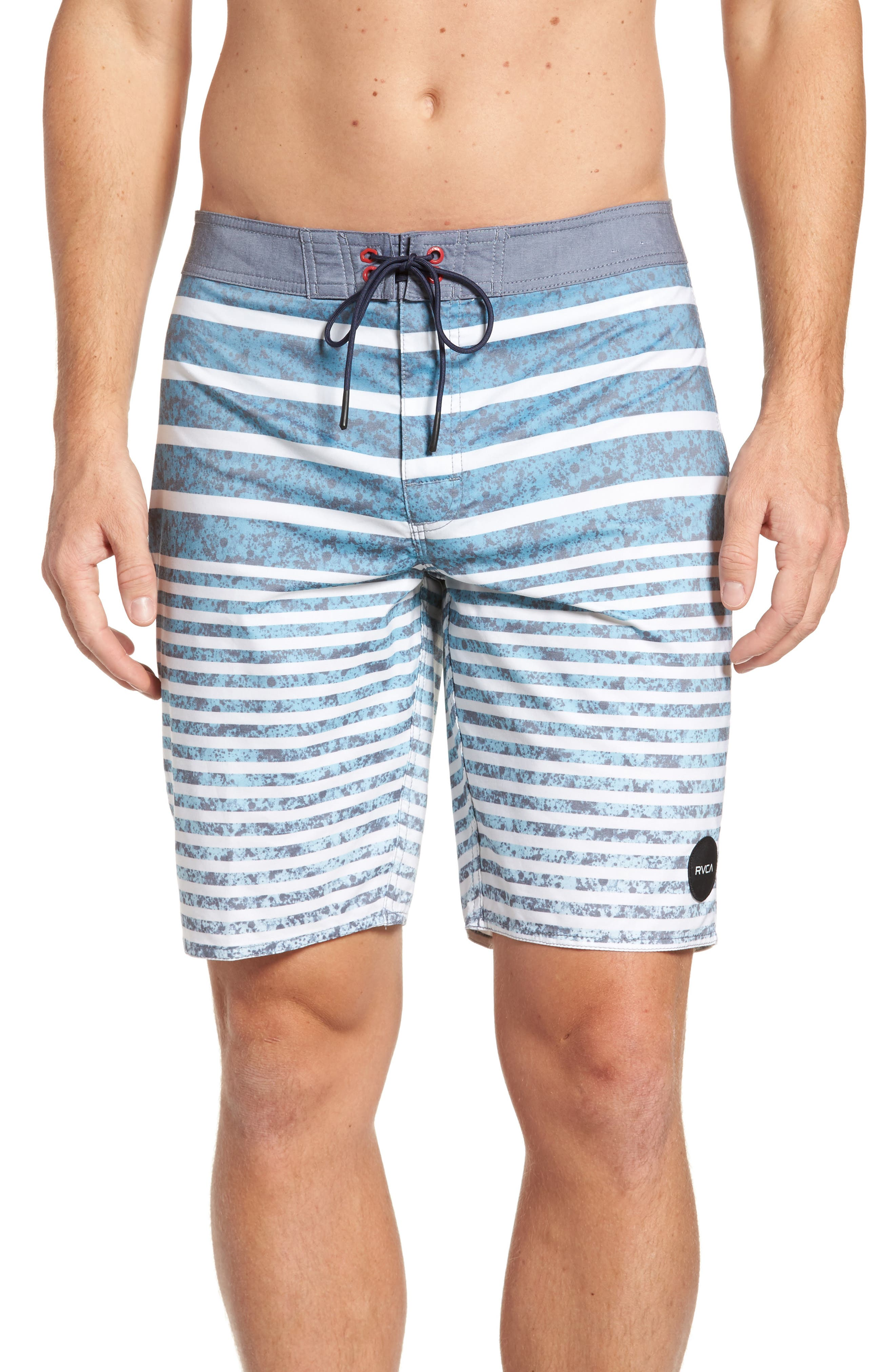 RVCA Stack 'Em Swim Trunks