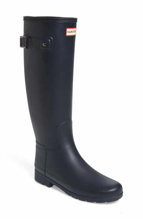 d62ee3f77cd4 Hunter Original Refined Waterproof Rain Boot (Women) (Regular   Narrow Calf)