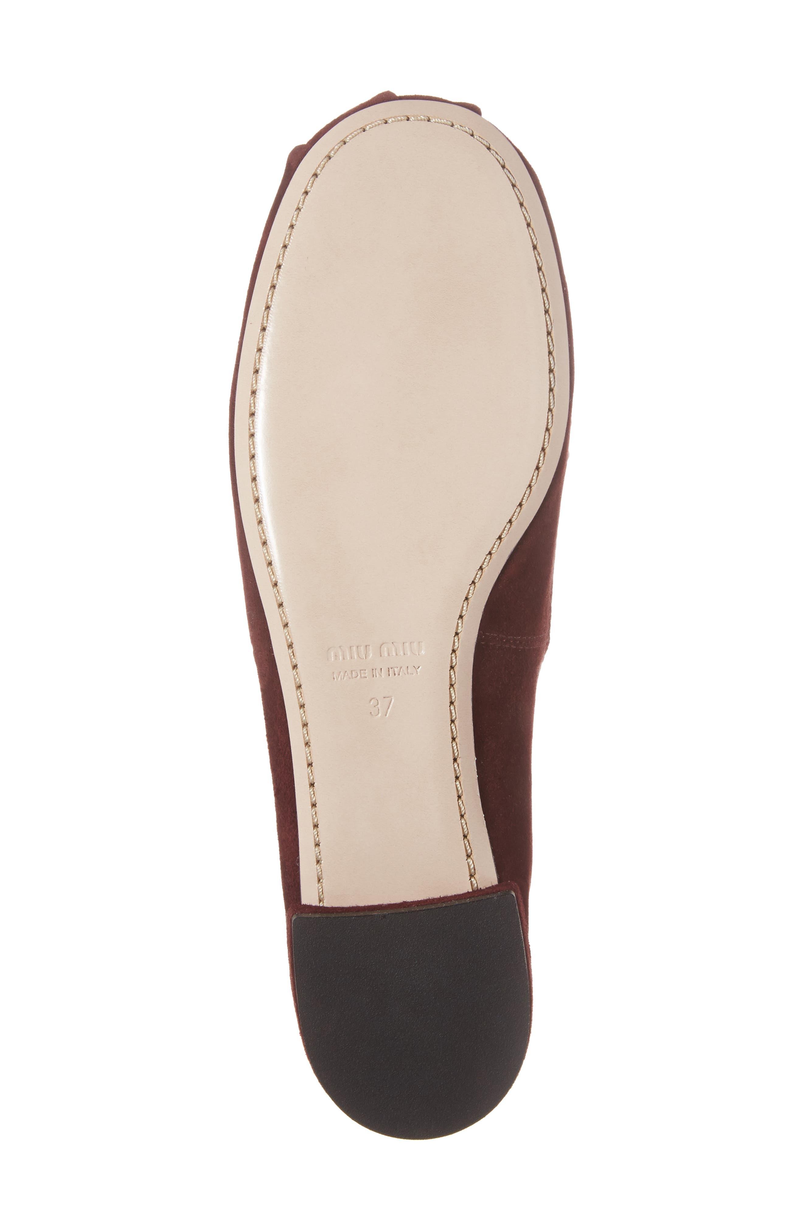 Alternate Image 6  - Miu Miu Embellished Loafer (Women)