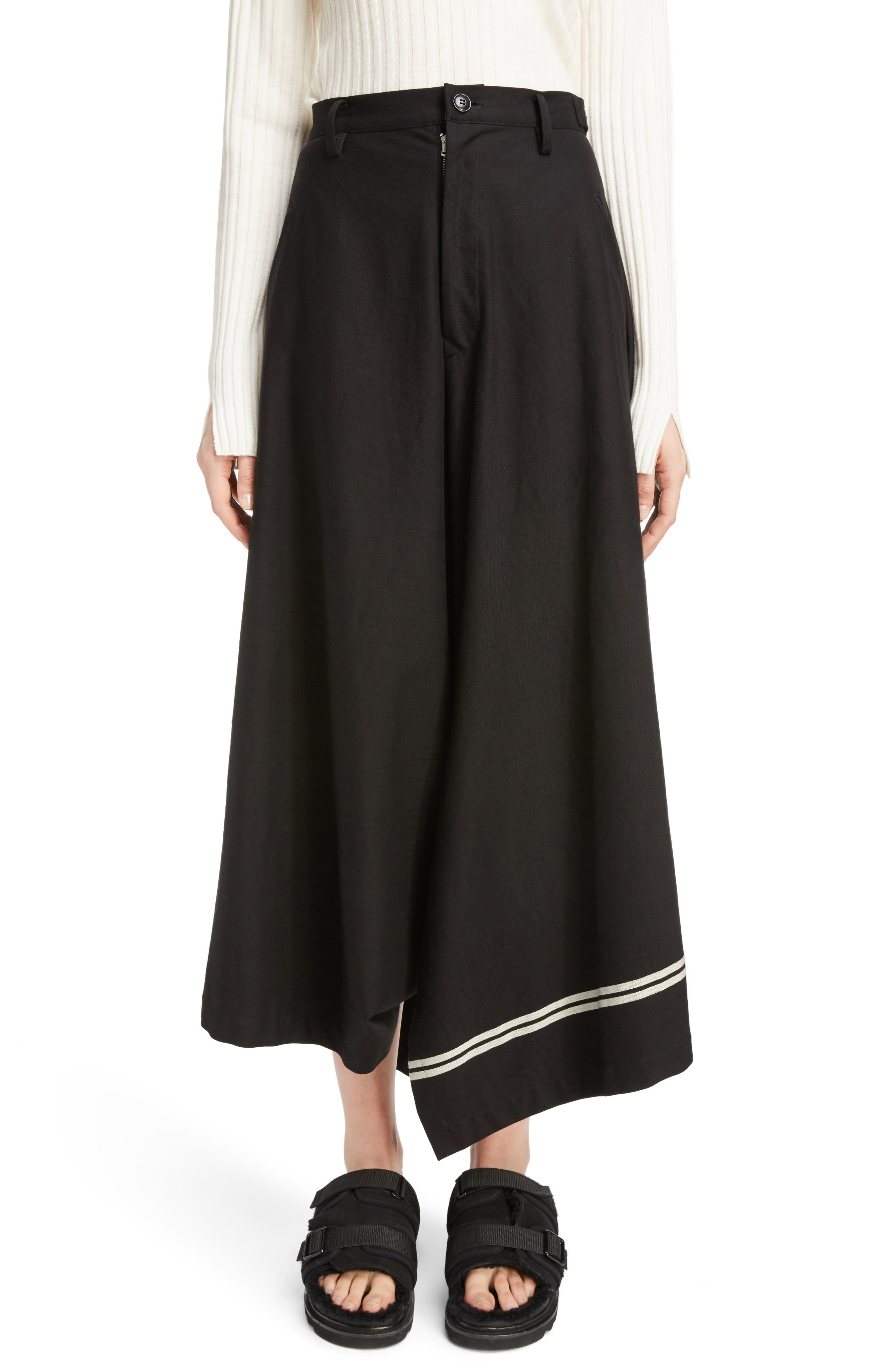 Dart Front Skirt,                         Main,                         color, Navy