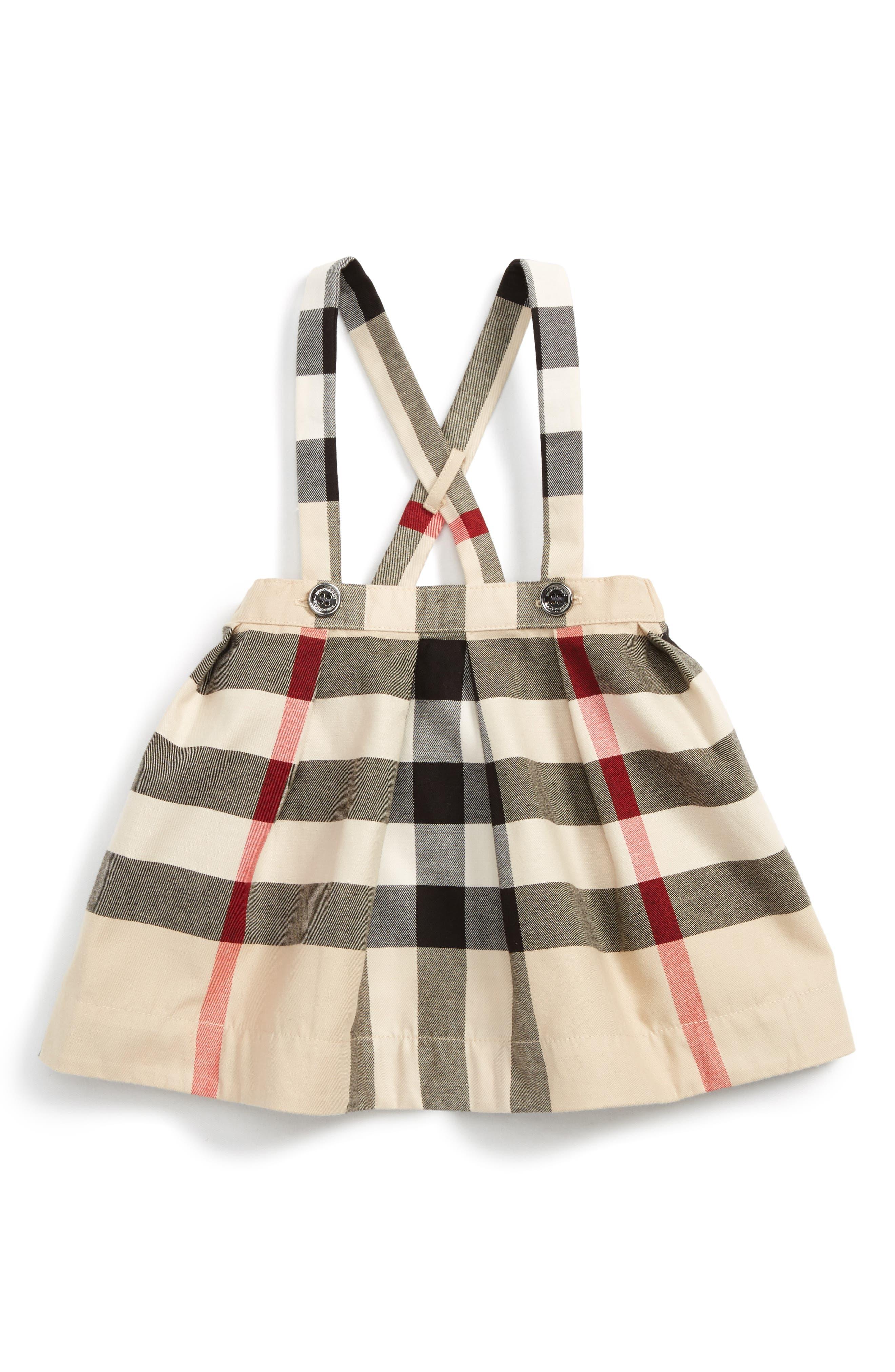 Burberry Sofia Pinafore Skirt (Baby Girls)