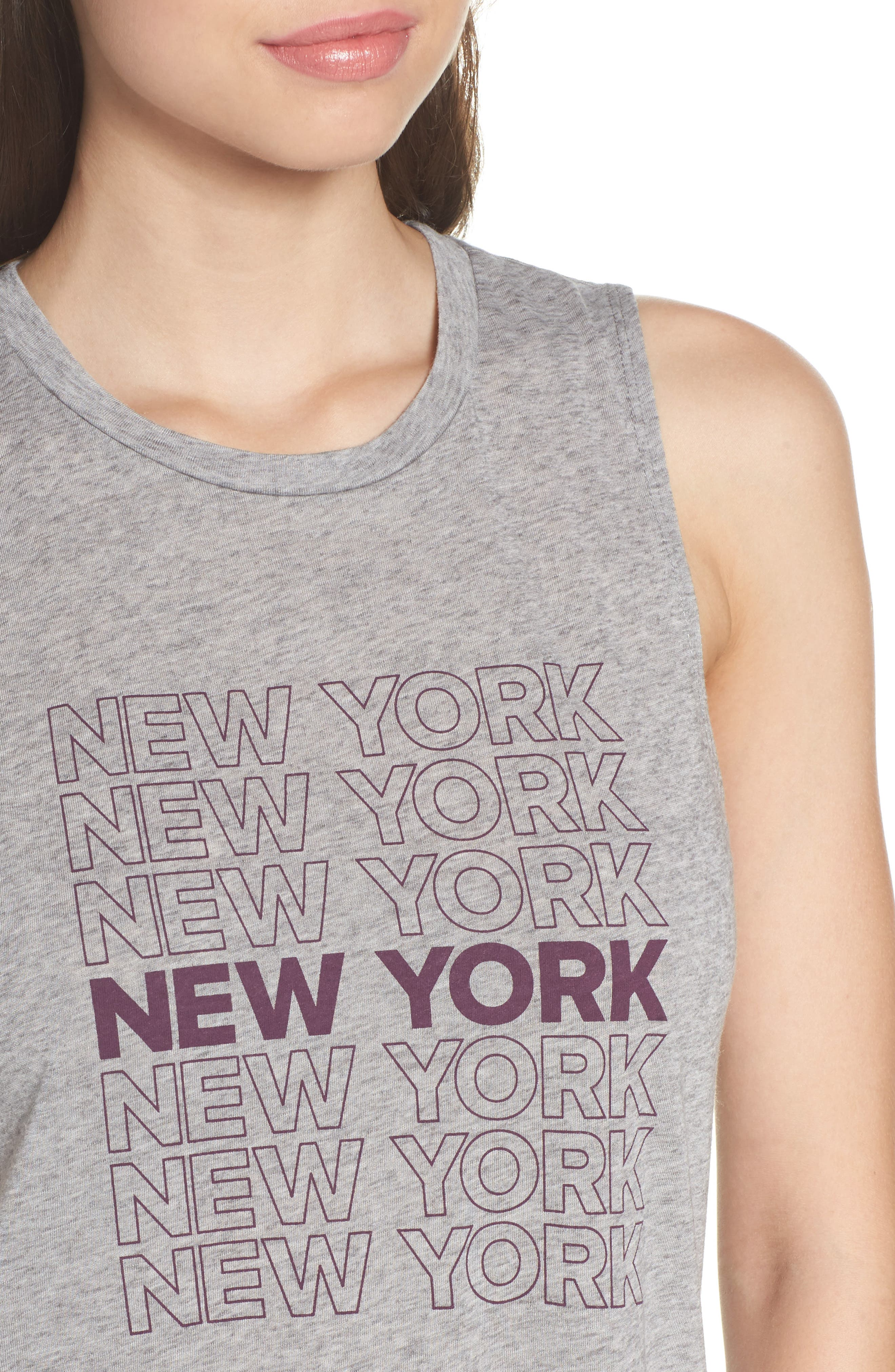 Alternate Image 5  - David Lerner New York High/Low Muscle Tank