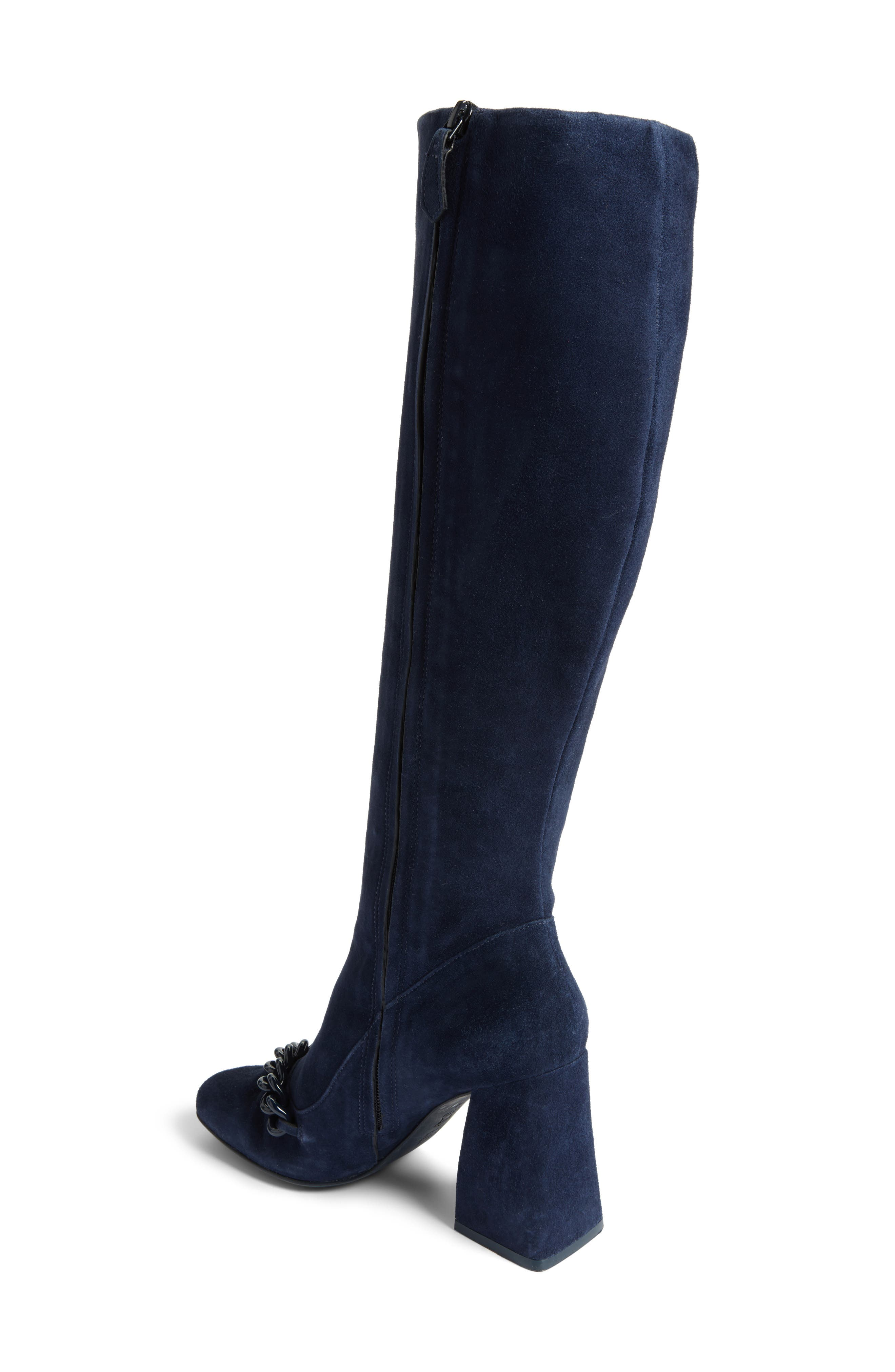 Alternate Image 2  - Tory Burch Addison Flared Heel Boot (Women)