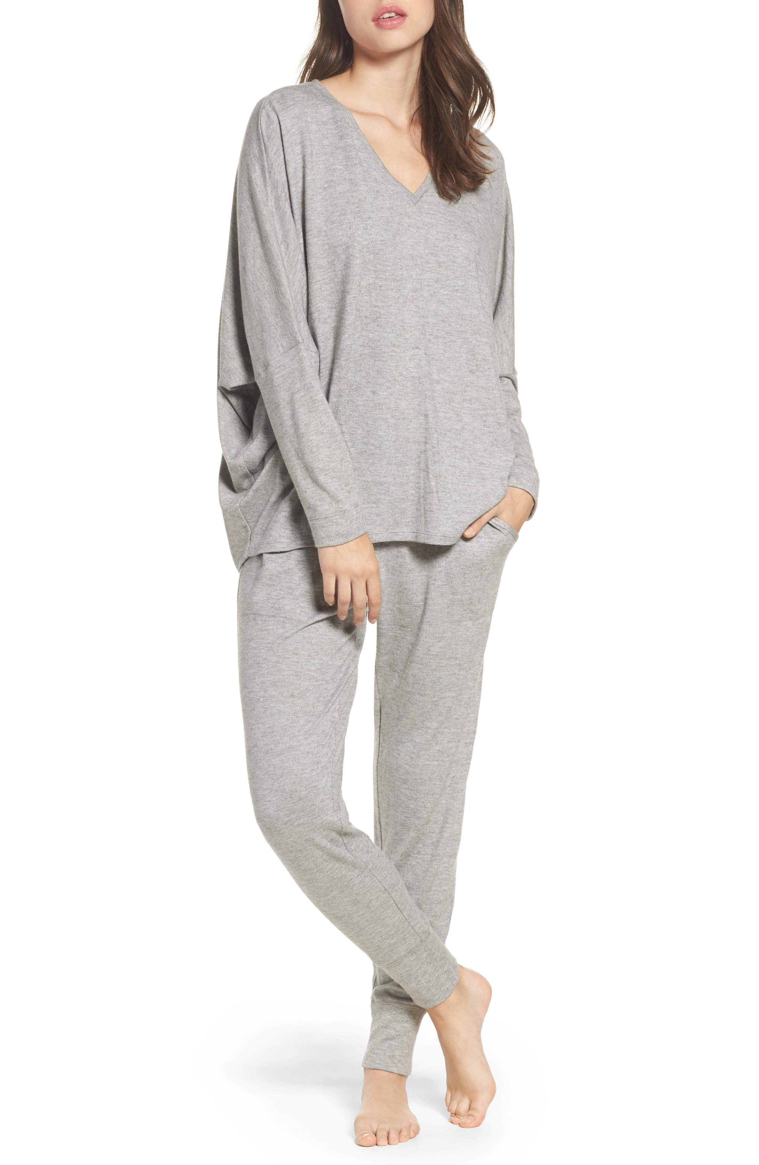 Alternate Image 5  - Natori Retreat Sweater Knit Pants