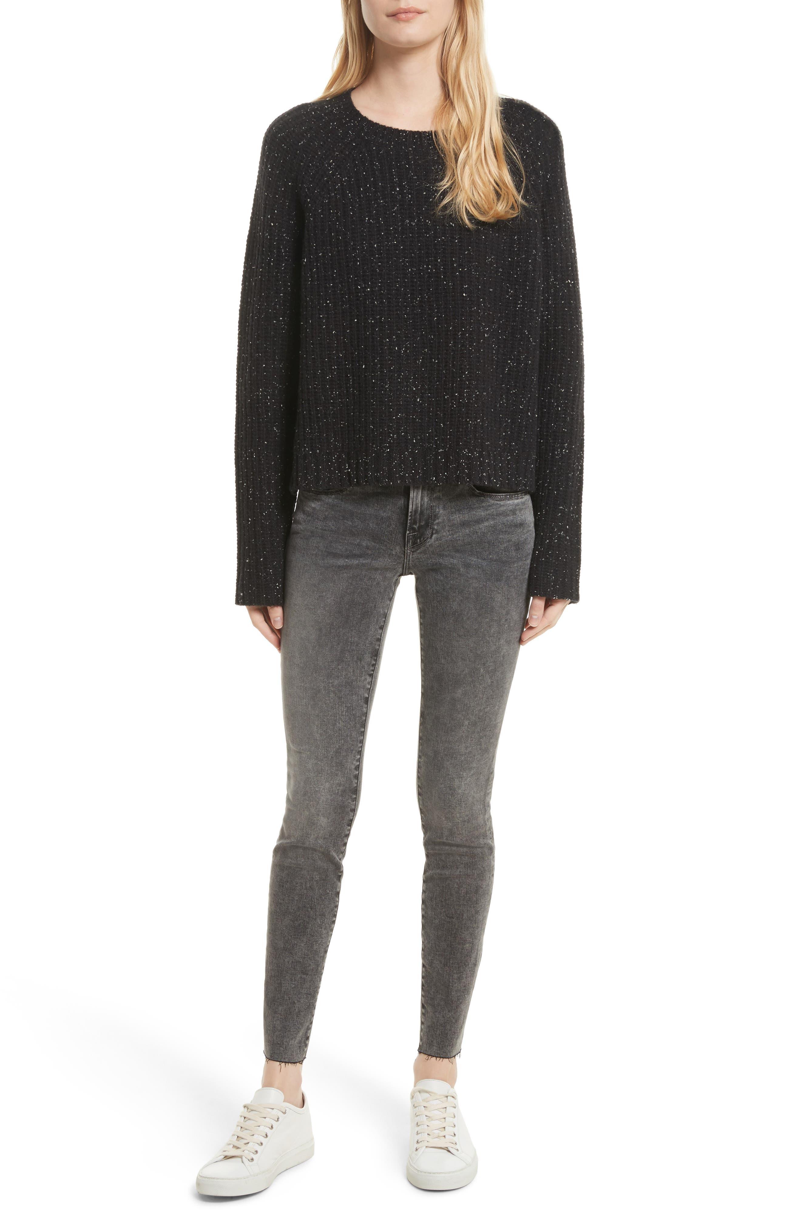 Alternate Image 2  - FRAME Le Skinny de Jeanne Raw Edge Skinny Jeans (Bennington)