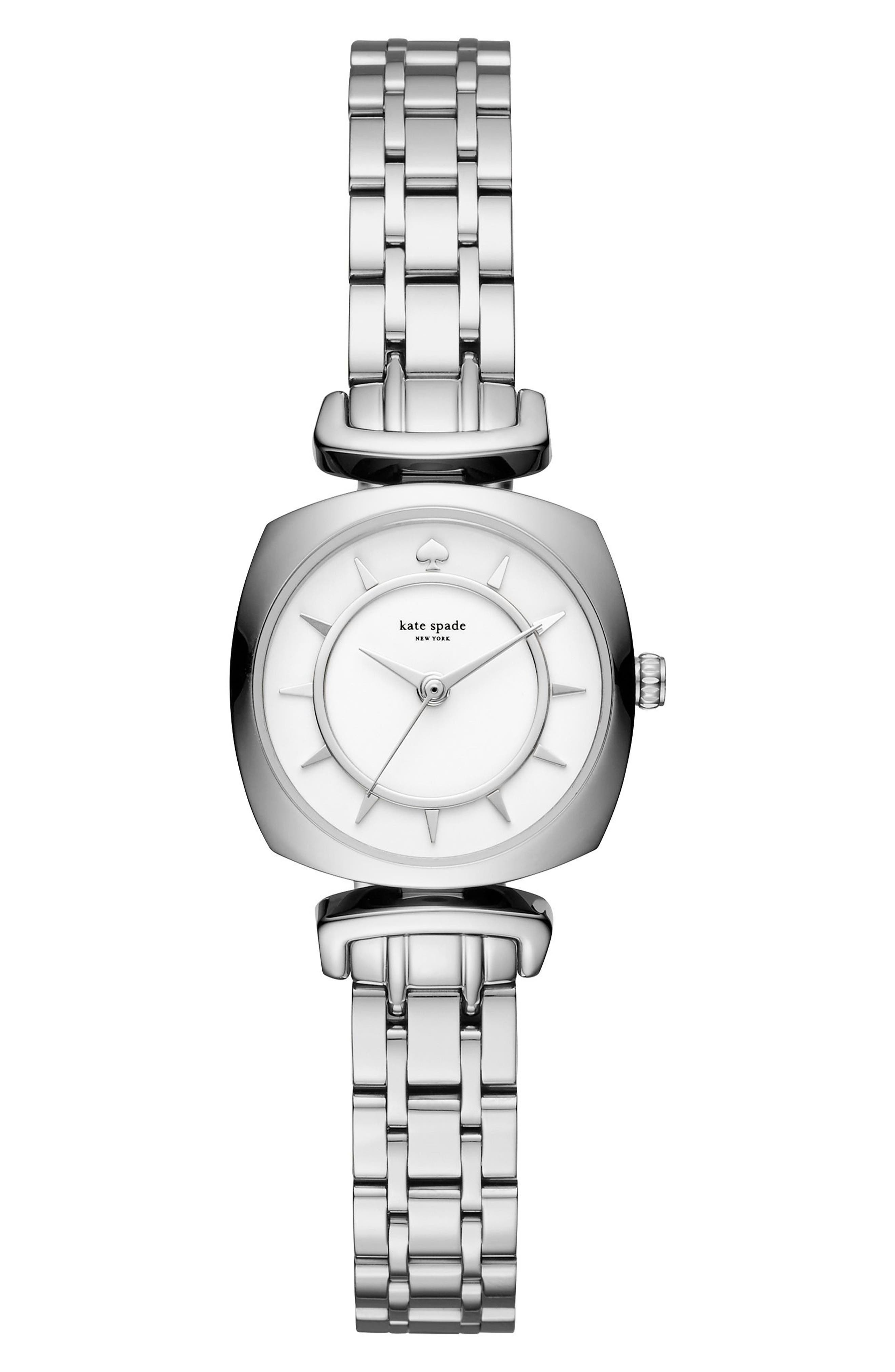 KATE SPADE NEW YORK barrow leather strap/bracelet watch, 24mm
