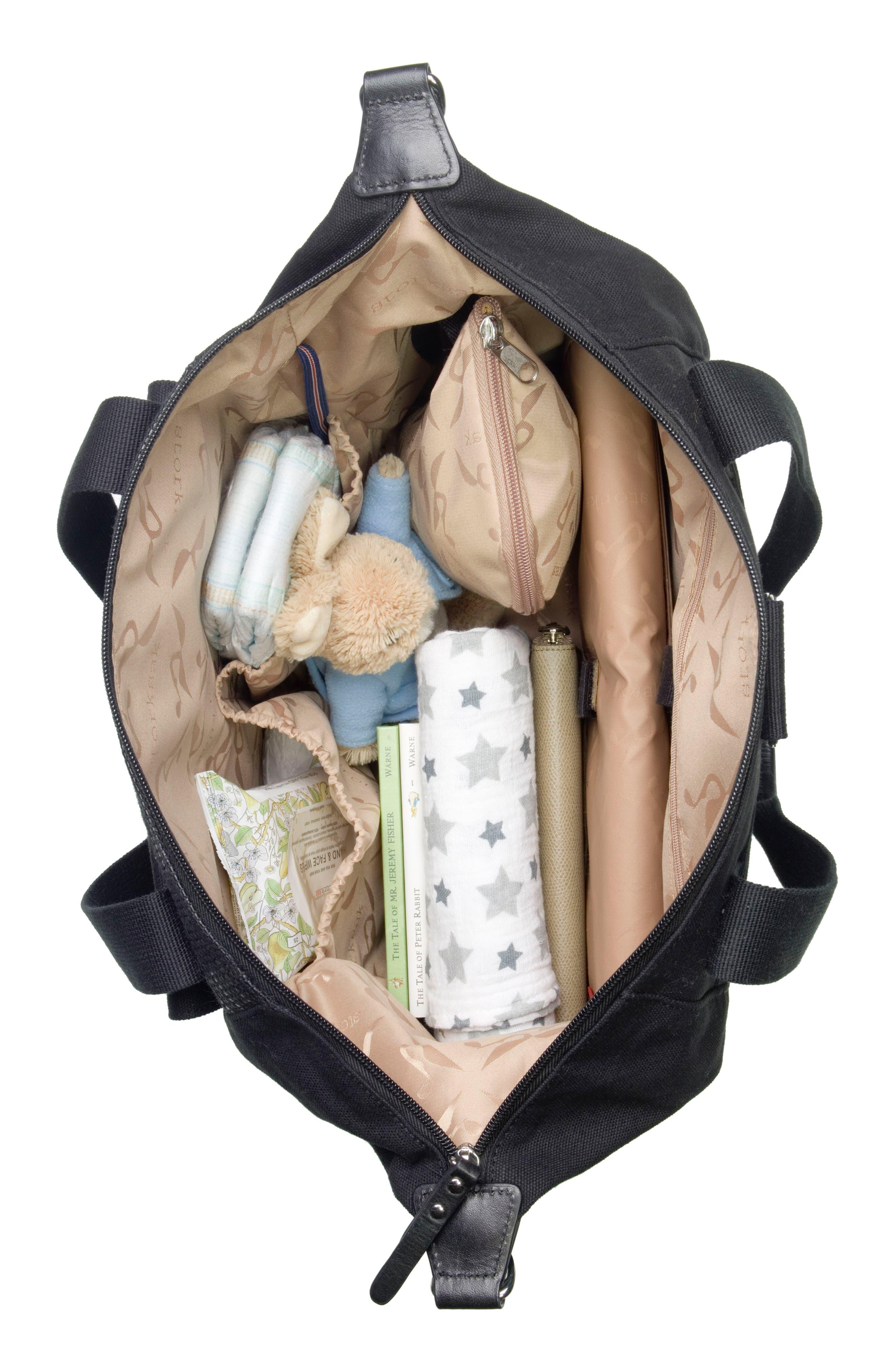 Alternate Image 7  - Storksak Jude Convertible Diaper Bag