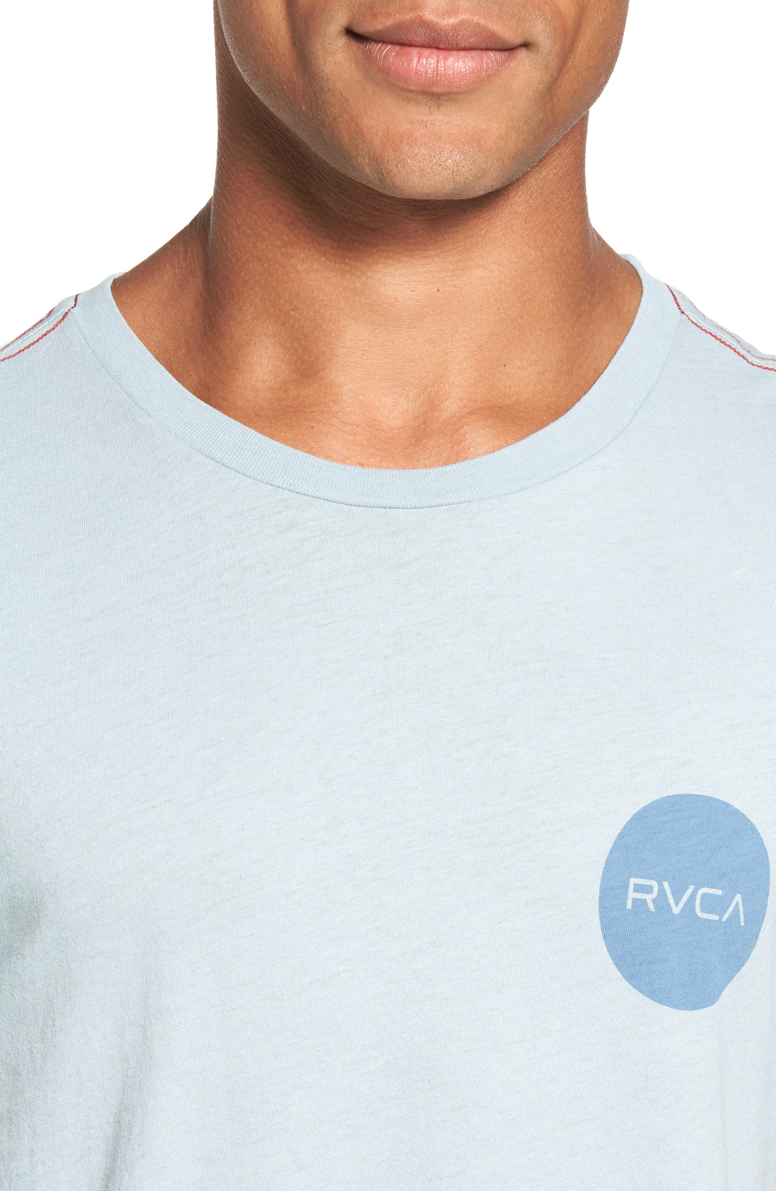 Motors Logo Graphic T-Shirt,                             Alternate thumbnail 4, color,                             Arona Blue