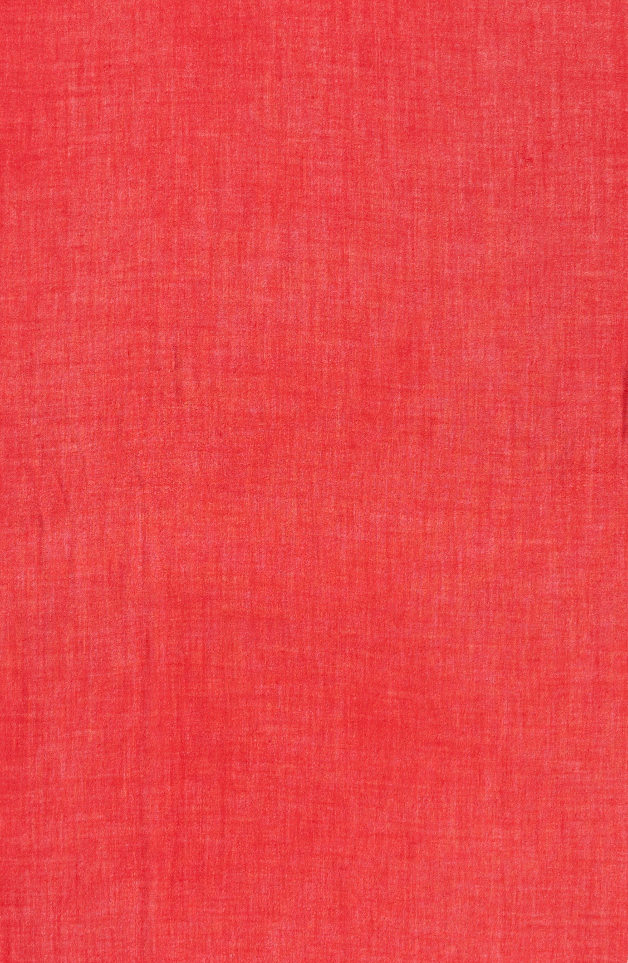Alternate Image 4  - Nordstrom Cashmere & Silk Wrap