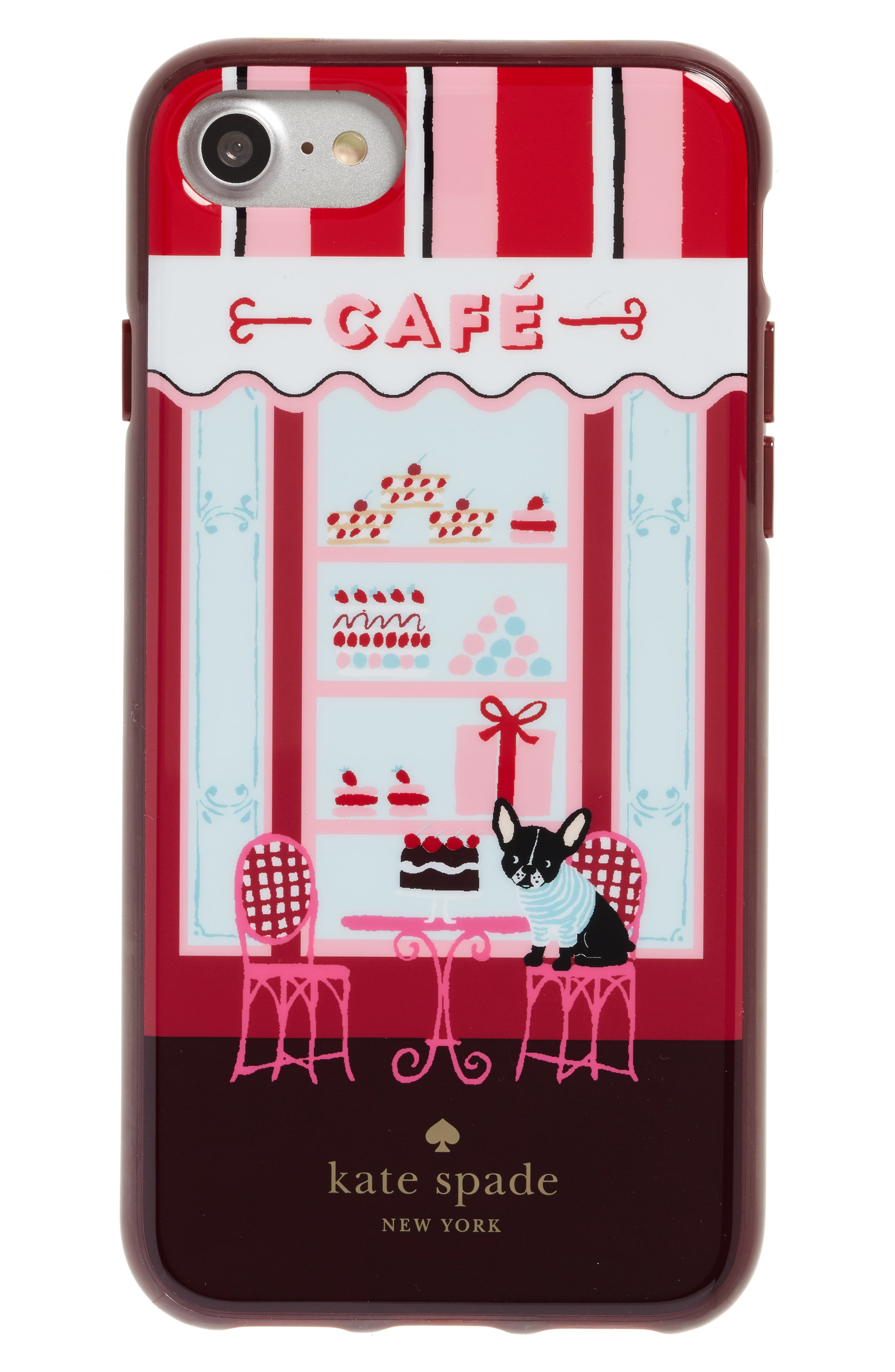 KATE SPADE NEW YORK cafe iPhone 7 case