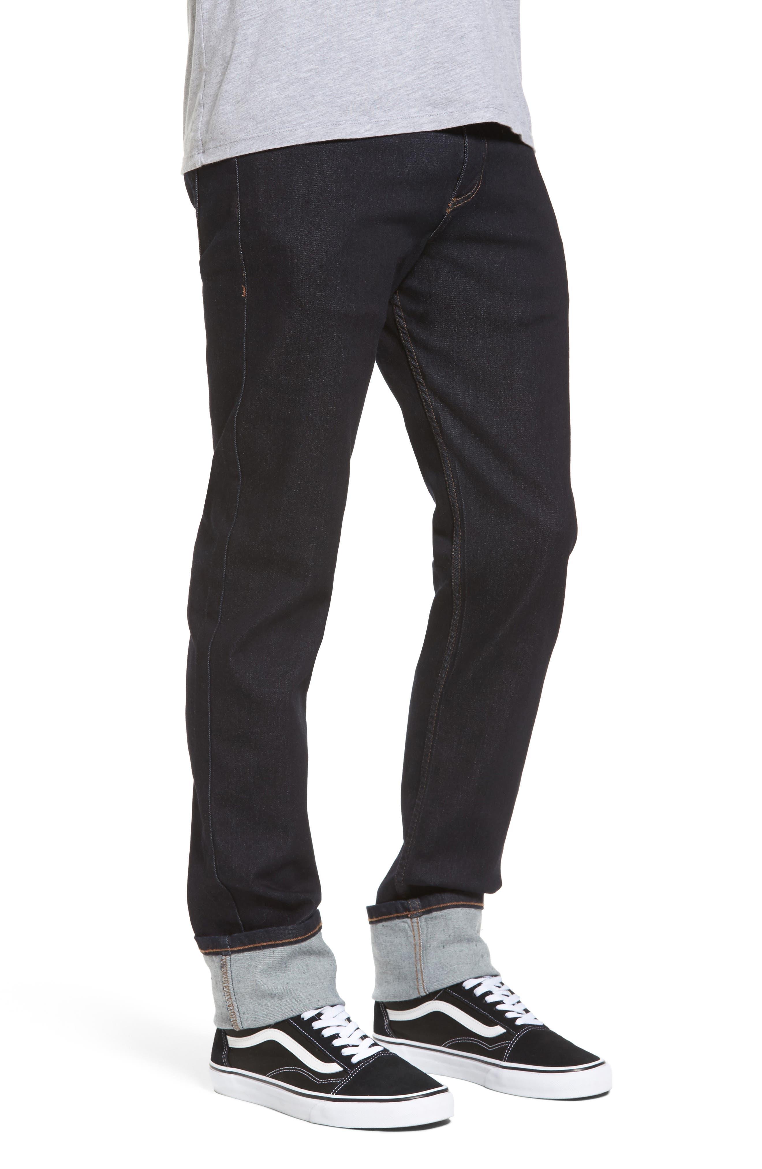 Weird Guy Slim Fit Jeans,                             Alternate thumbnail 3, color,                             Indigo