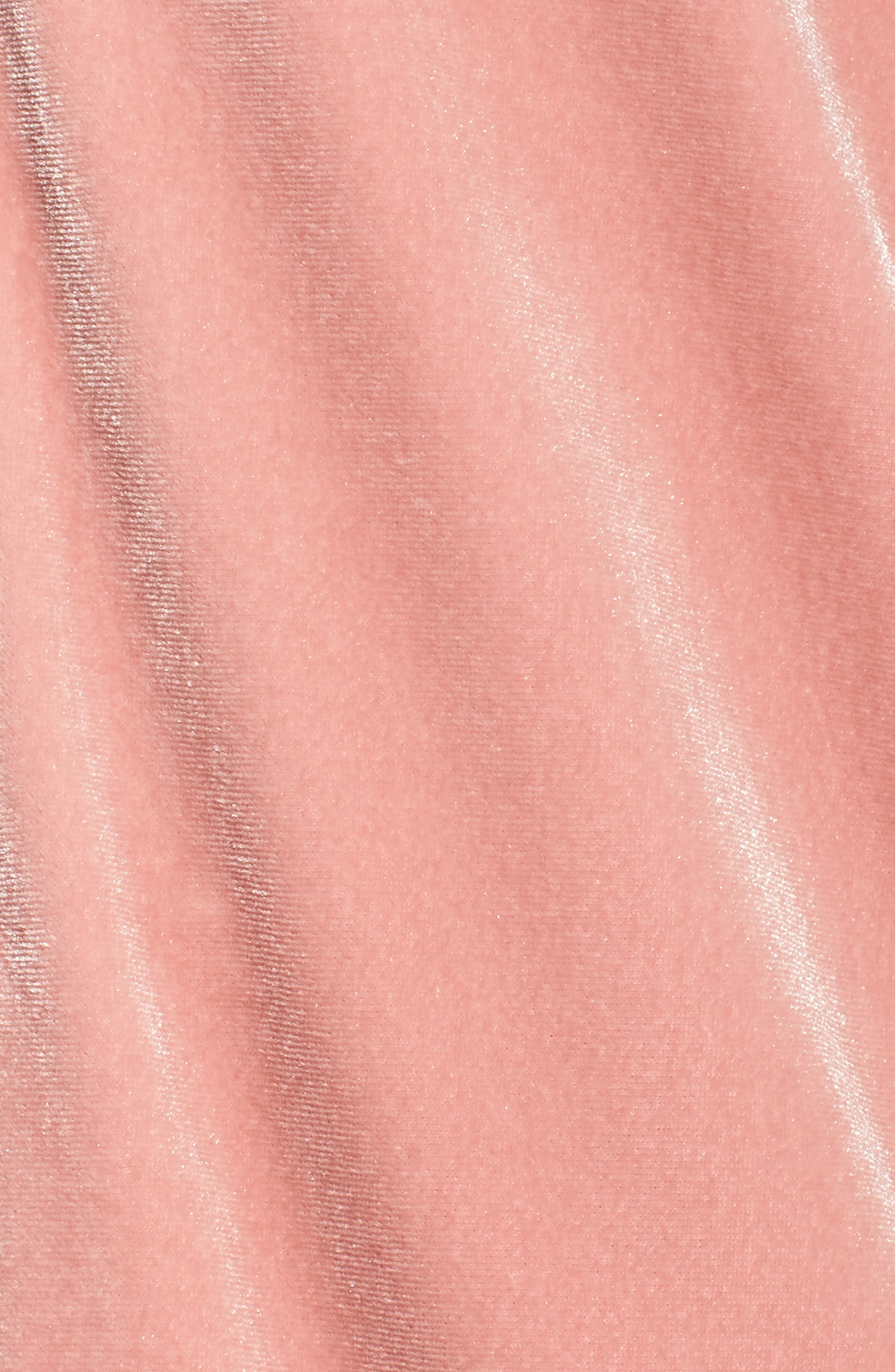 Alternate Image 5  - adidas originals Velvet Zip Sweatshirt