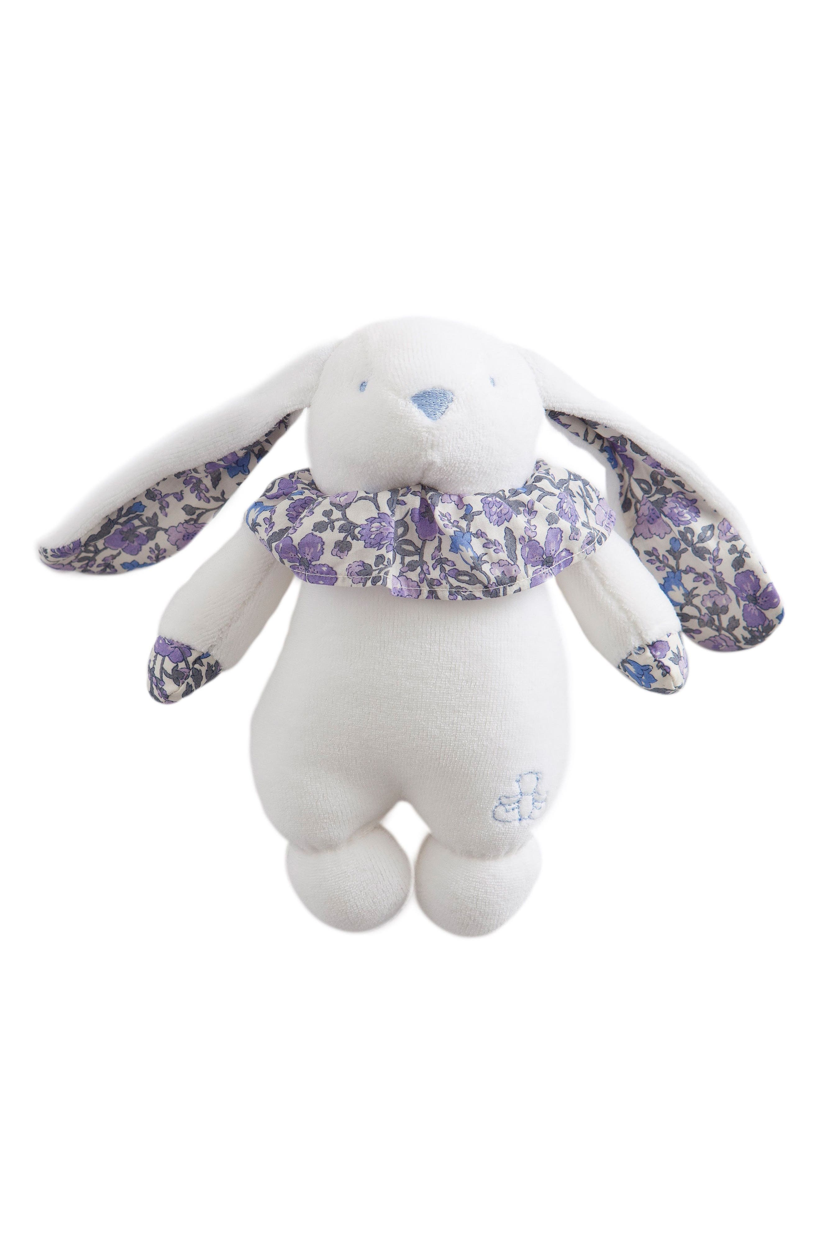 Alternate Image 1 Selected - Pamplemousse Peluches x Liberty of London Rabbit Rattle