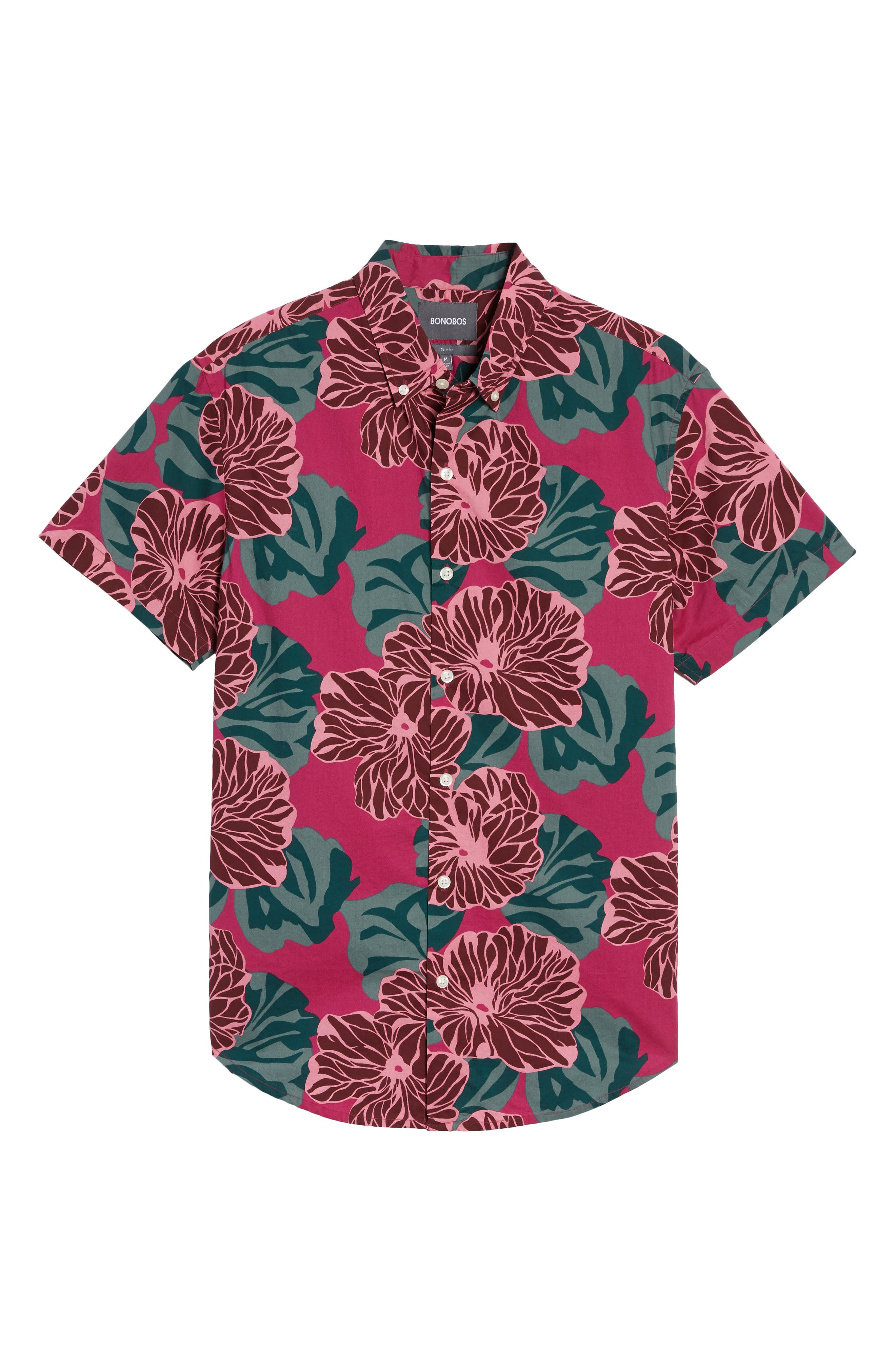 Alternate Image 6  - Bonobos Riviera Slim Fit Short Sleeve Sport Shirt