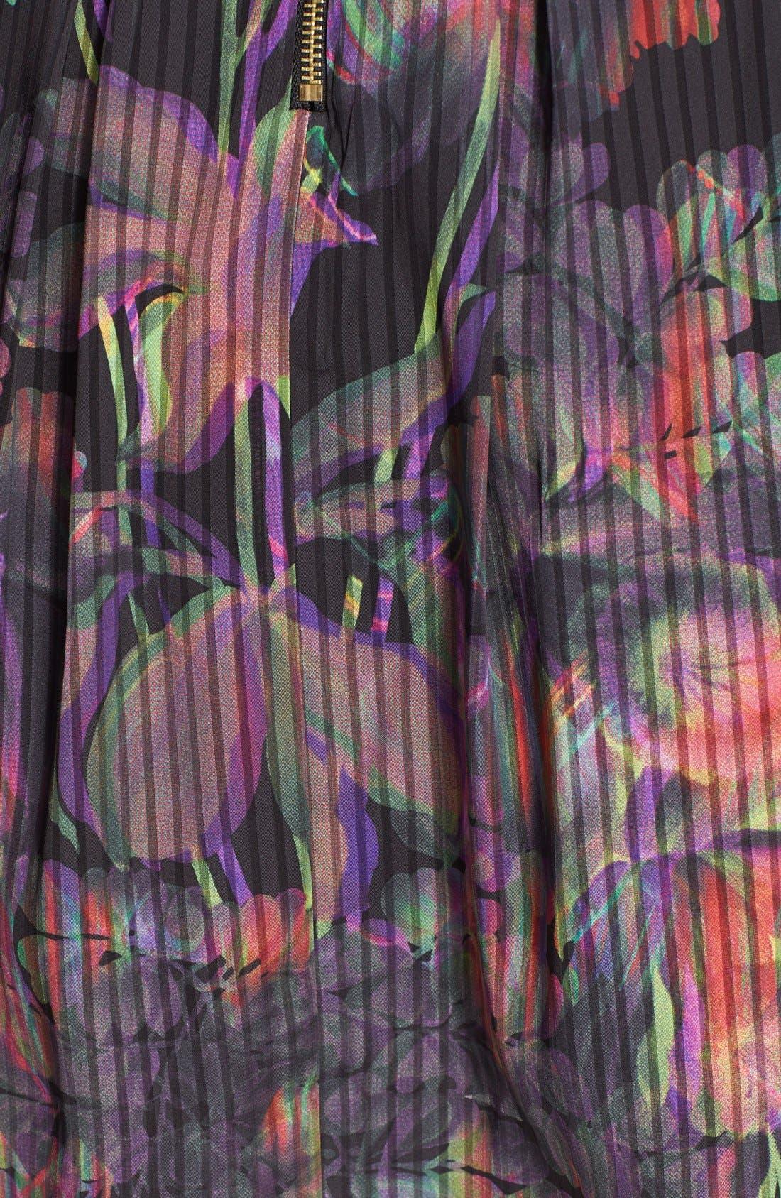 Alternate Image 3  - Ted Baker London 'Jadzia Holographic Halftone' Print A-Line Skirt