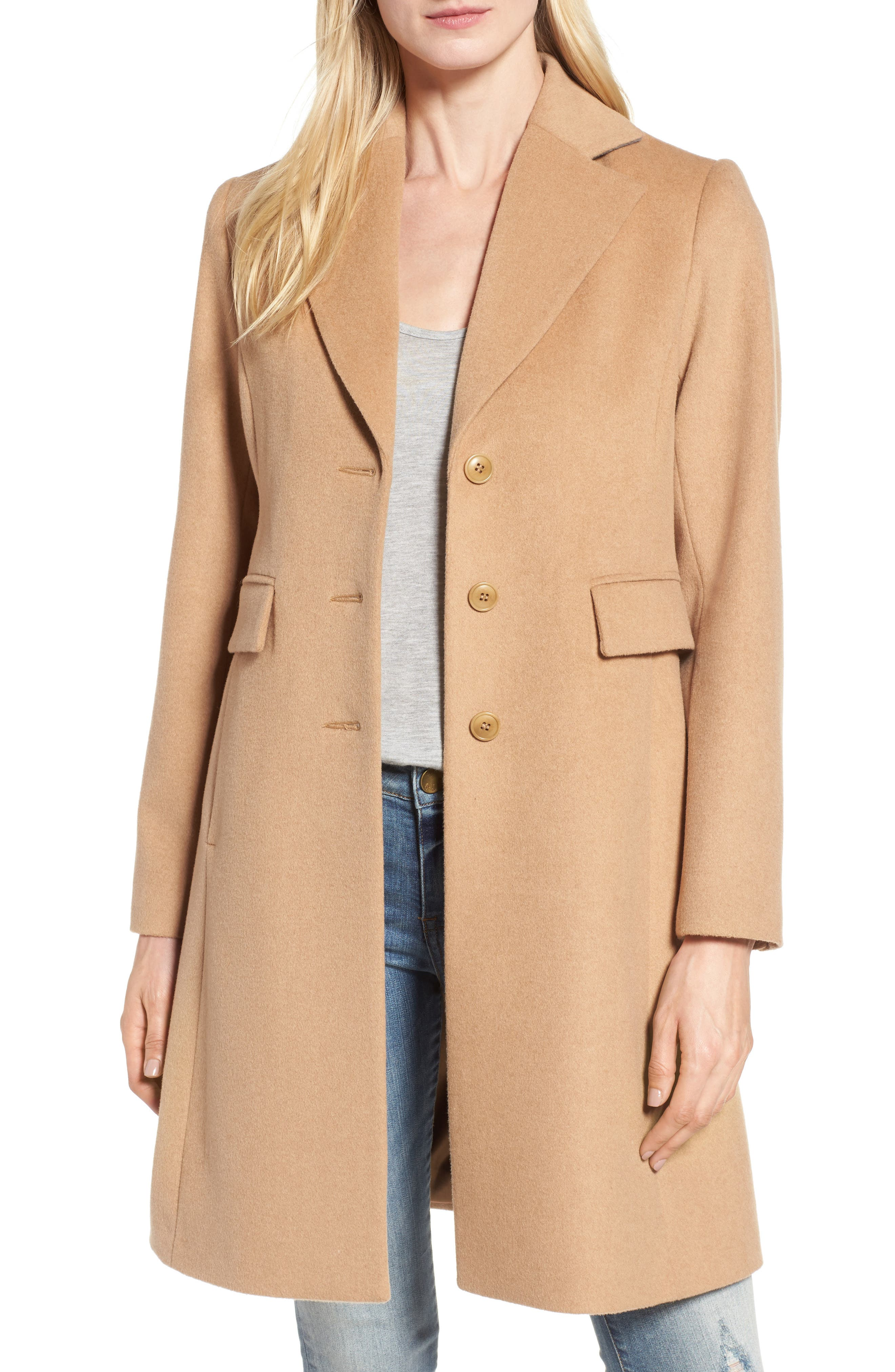 Kristen Blake Walking Coat (Regular & Petite)