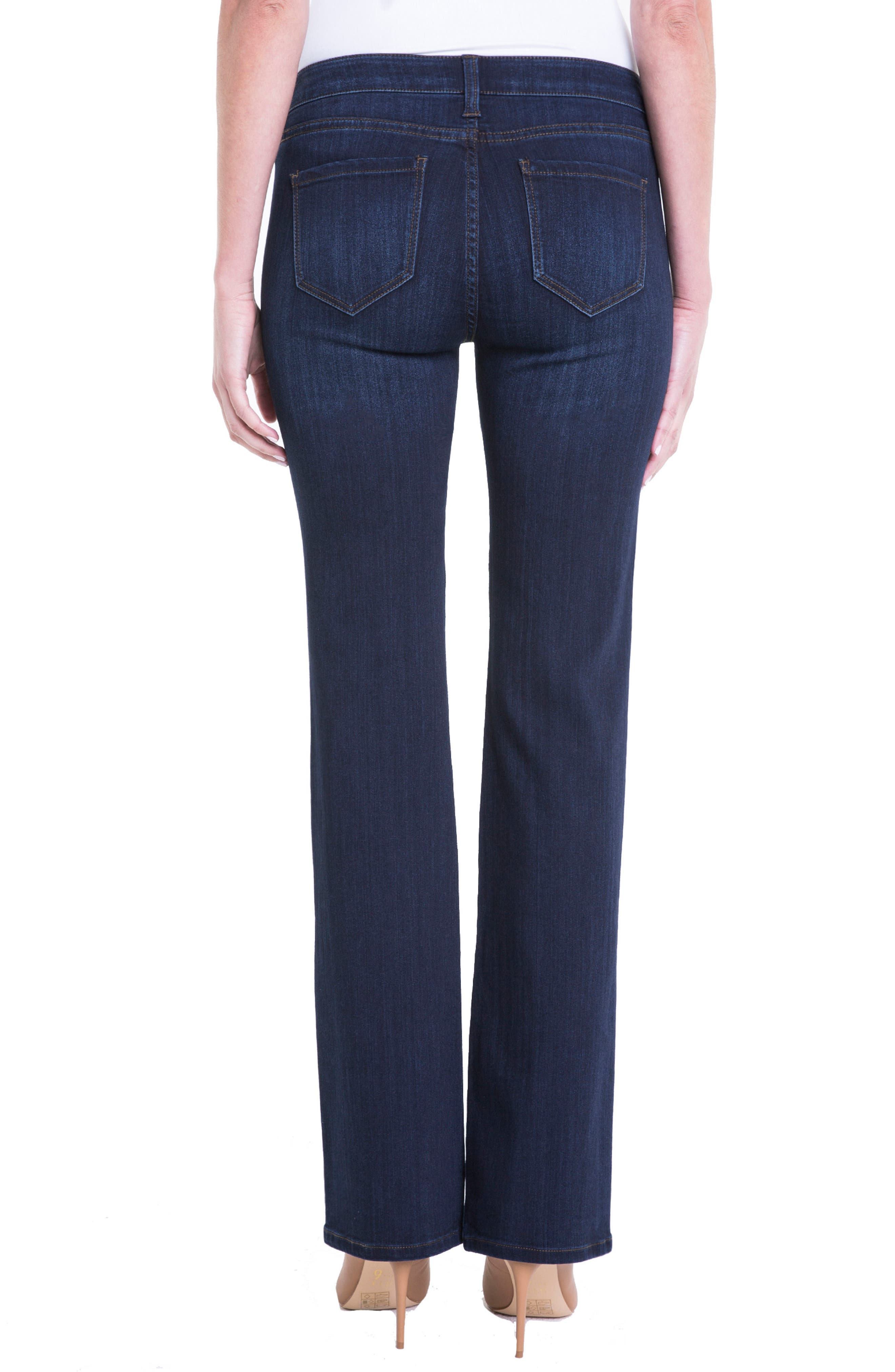 Lucy Bootcut Jeans,                             Alternate thumbnail 2, color,                             Dunmore Dark