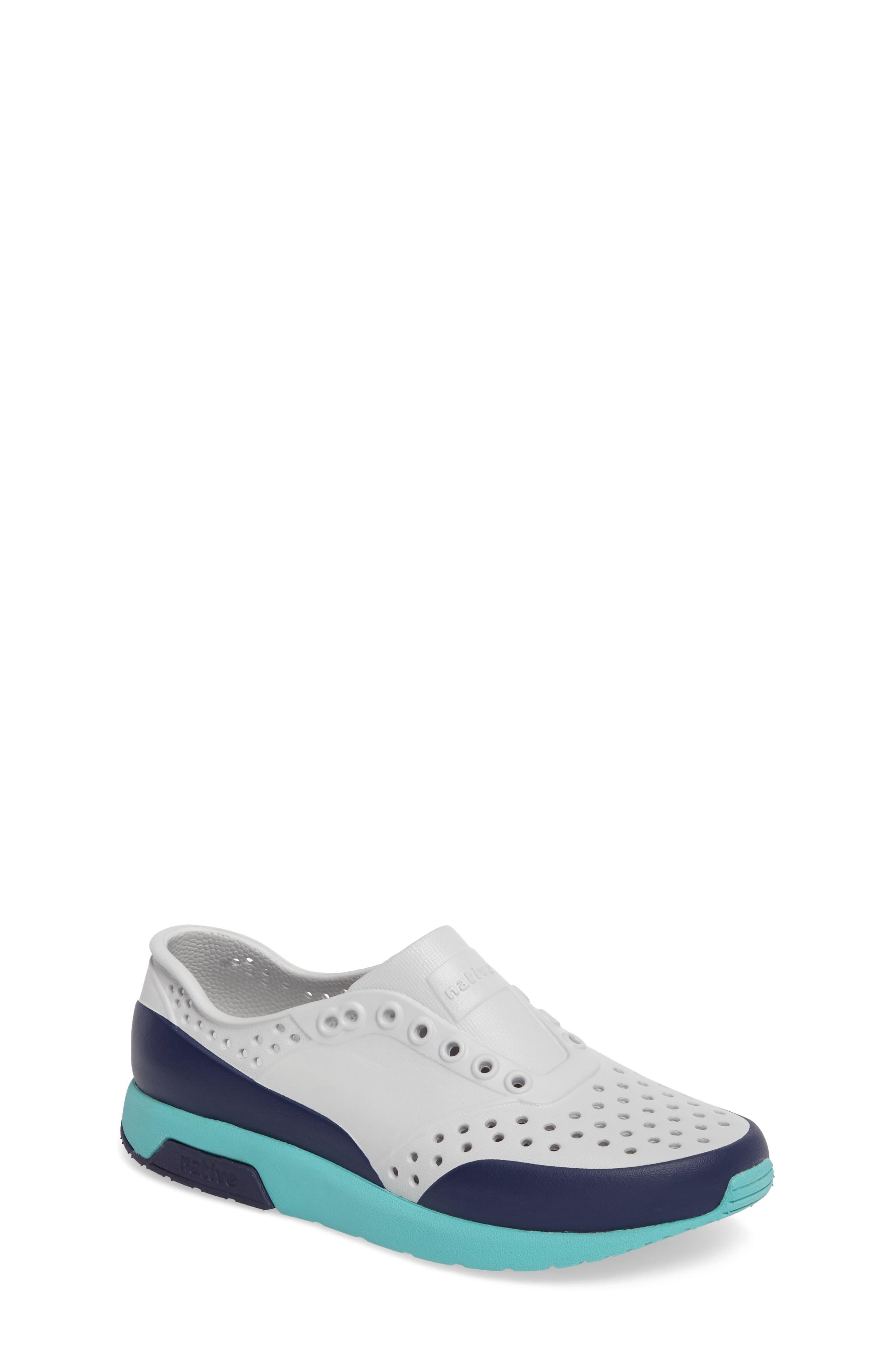 Alternate Image 1 Selected - Native Shoes Lennox Block Slip-On Sneaker (Baby, Walker, Toddler & Little Kid)