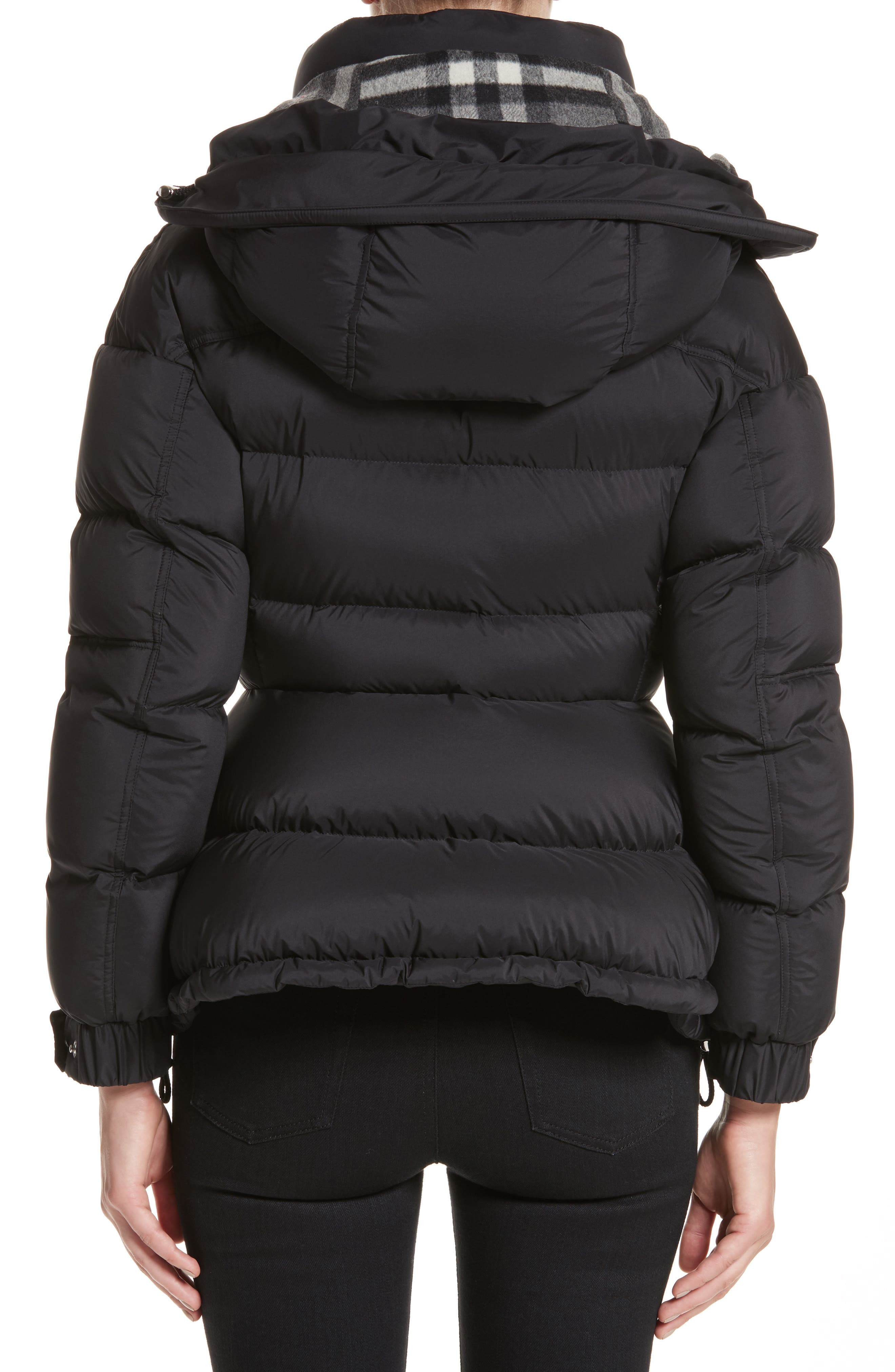 Alternate Image 2  - Burberry Fleetwood Hooded Down Puffer Jacket