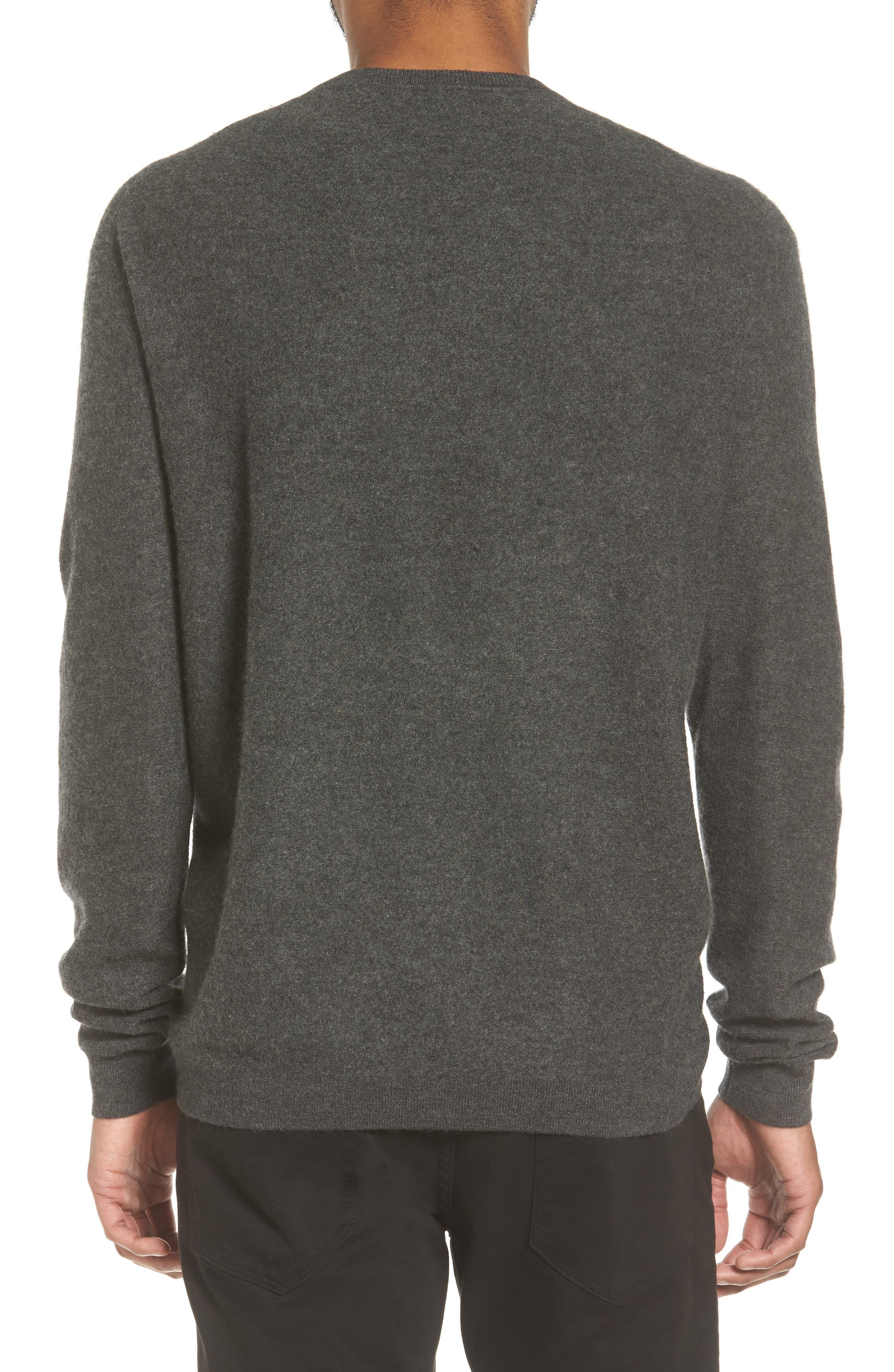 Alternate Image 3  - Vince Cashmere Crewneck Sweater